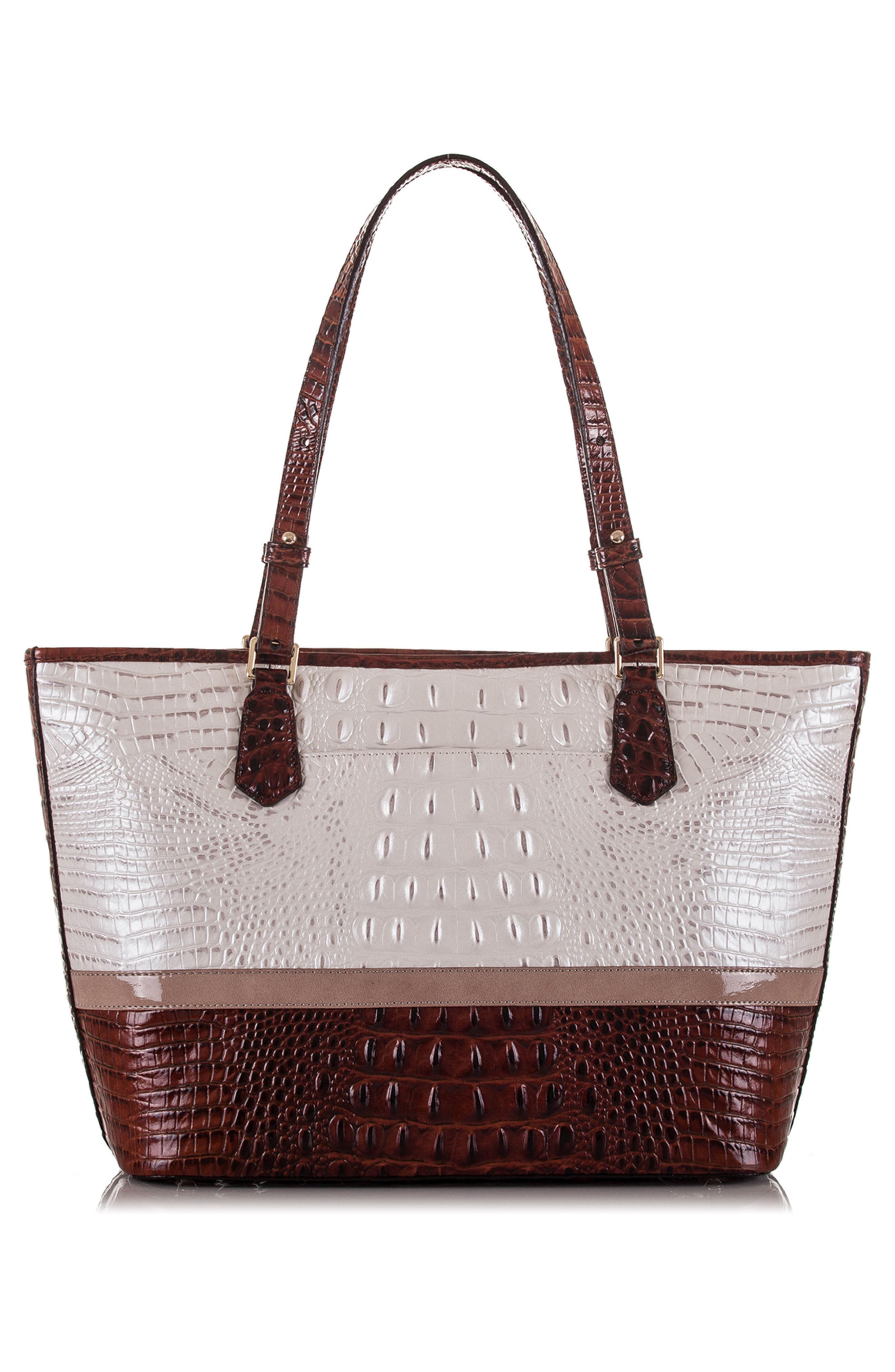 Medium Durance - Asher Croc Embossed Leather Tote,                             Alternate thumbnail 2, color,