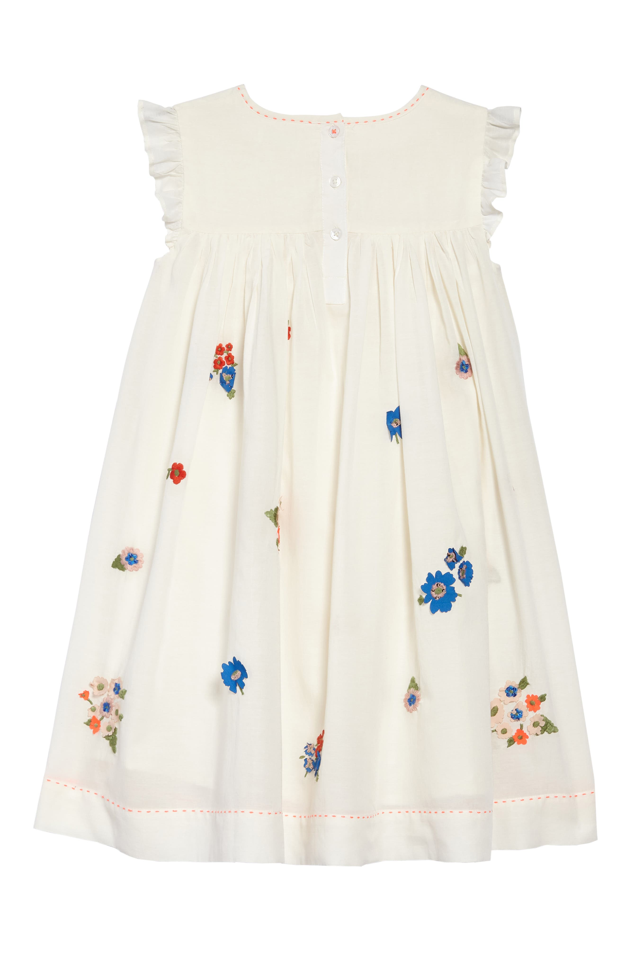 Embroidered Smock Dress,                             Alternate thumbnail 2, color,                             902