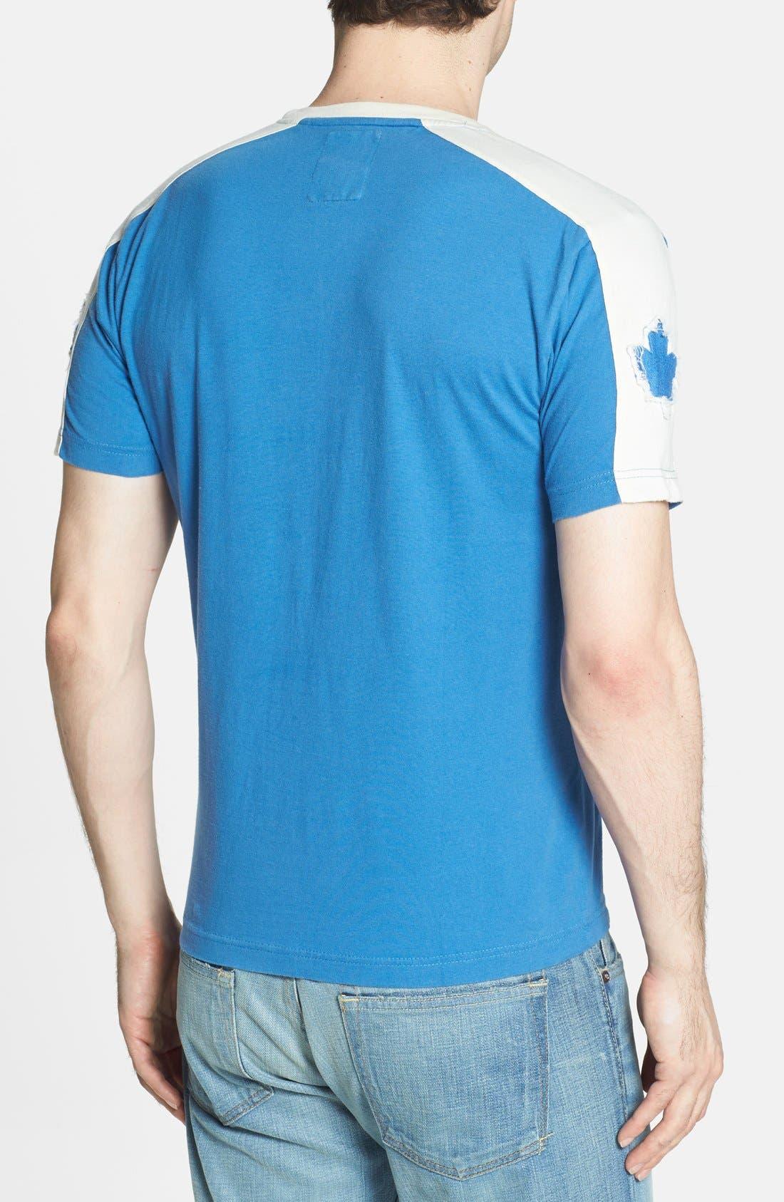 'Toronto Maple Leafs' T-Shirt,                             Alternate thumbnail 4, color,                             450