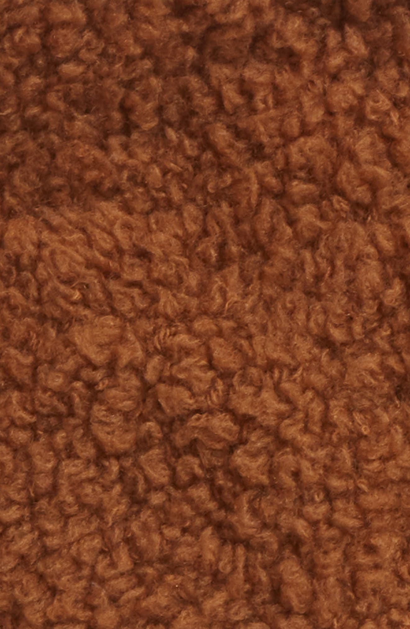 Teddy Wool & Cashmere Blend Pom Beanie,                             Alternate thumbnail 2, color,                             GINGER