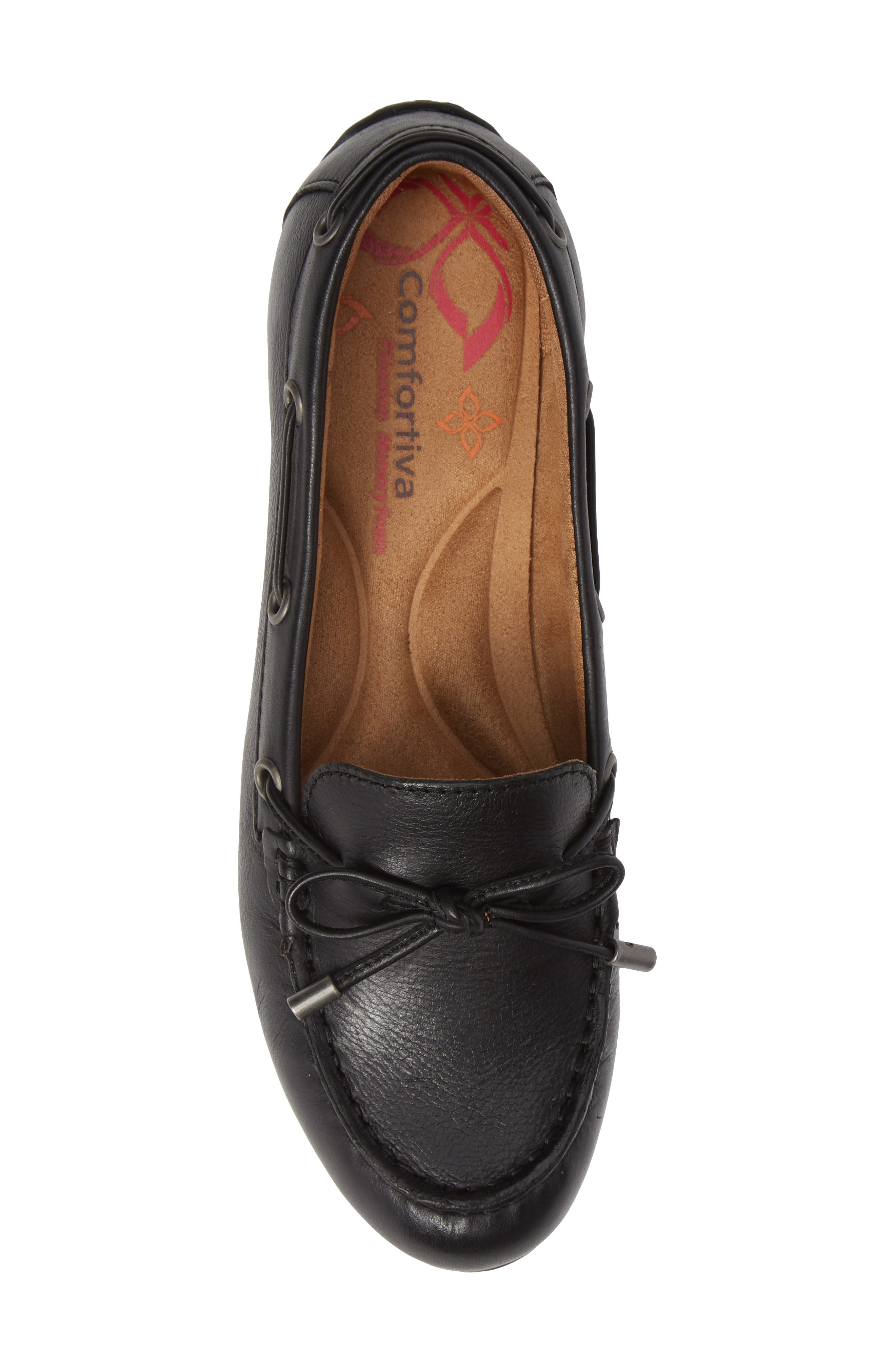 Mindy Loafer,                             Alternate thumbnail 5, color,                             BLACK