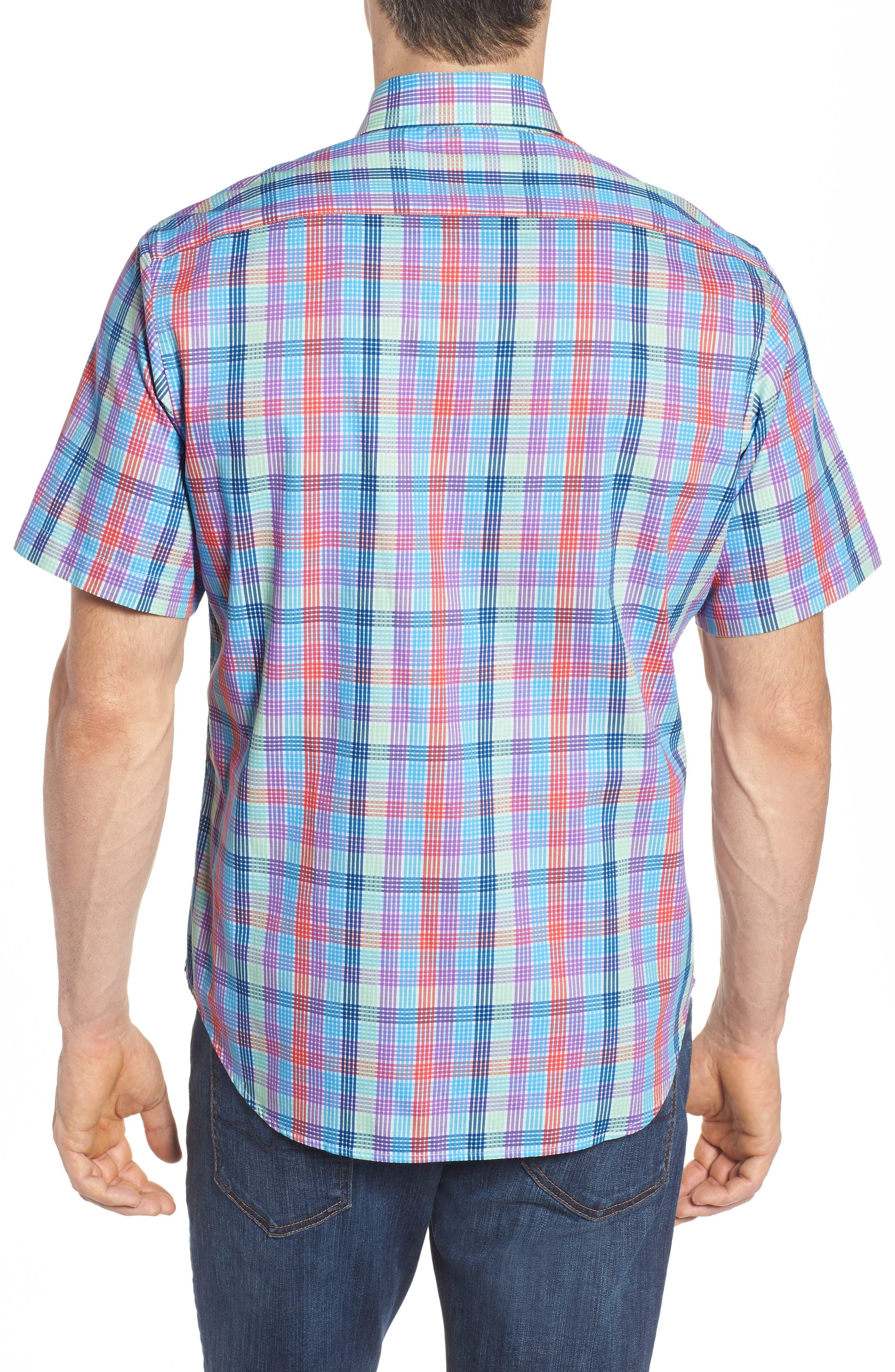 Slidell Regular Fit Check Sport Shirt,                             Alternate thumbnail 2, color,                             465