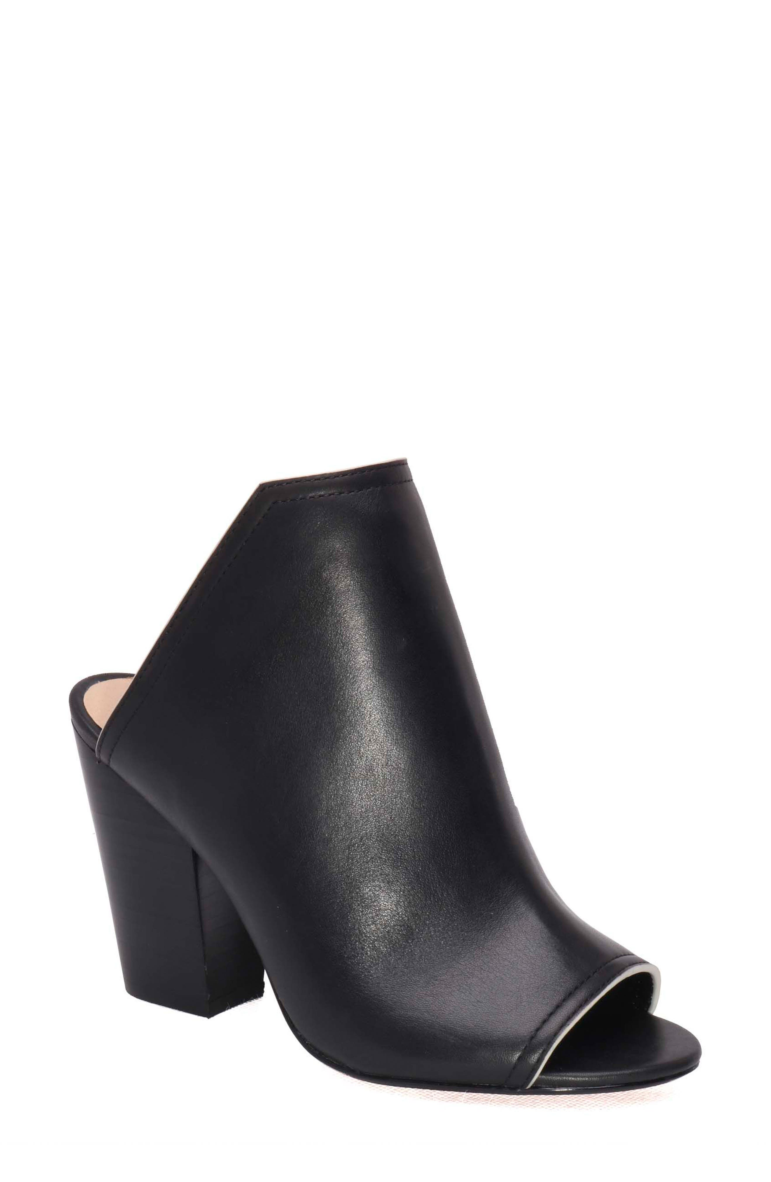 Honor Open Toe Mule,                         Main,                         color, 001