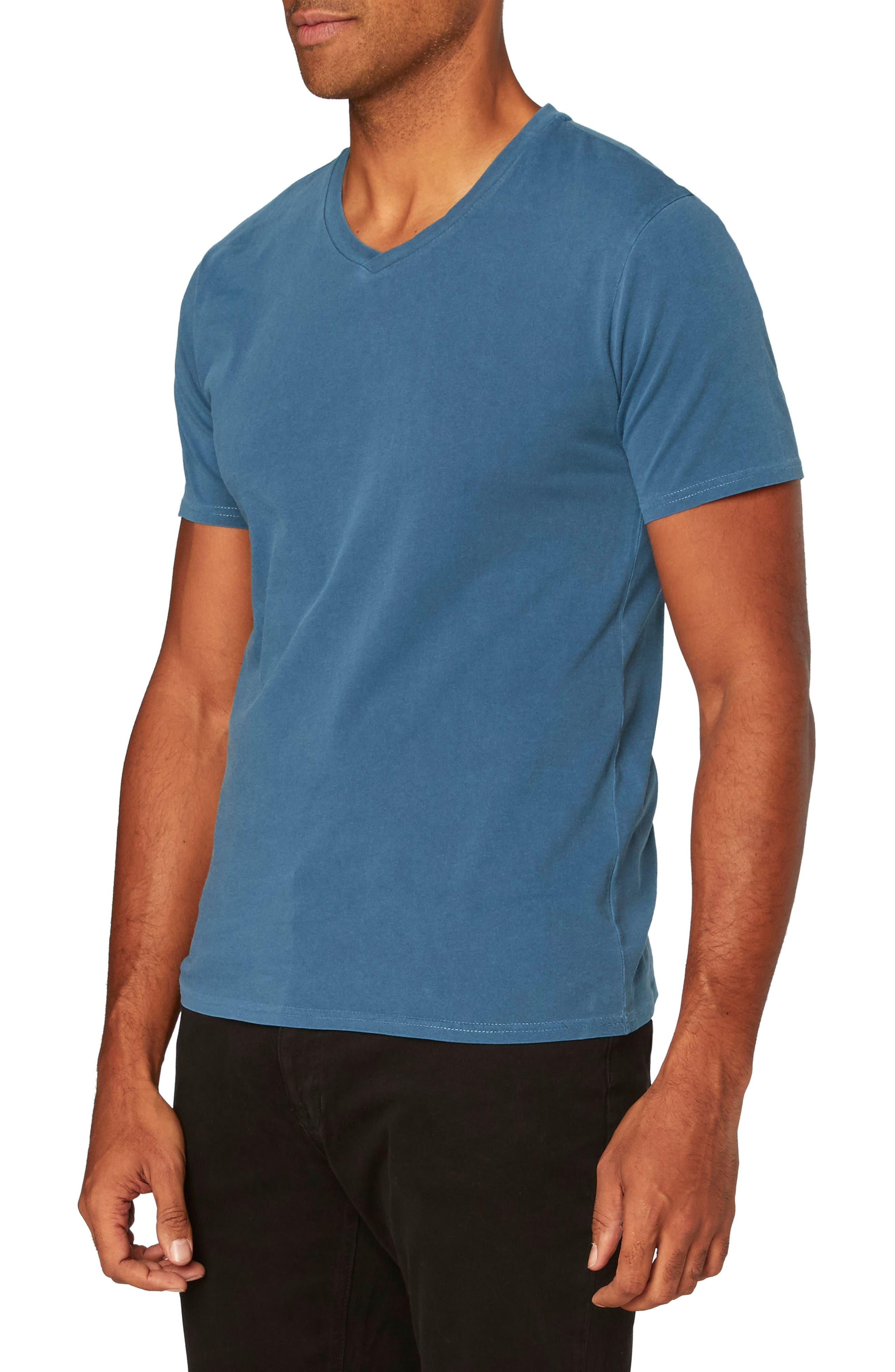 Standard V-Neck T-Shirt,                             Alternate thumbnail 17, color,