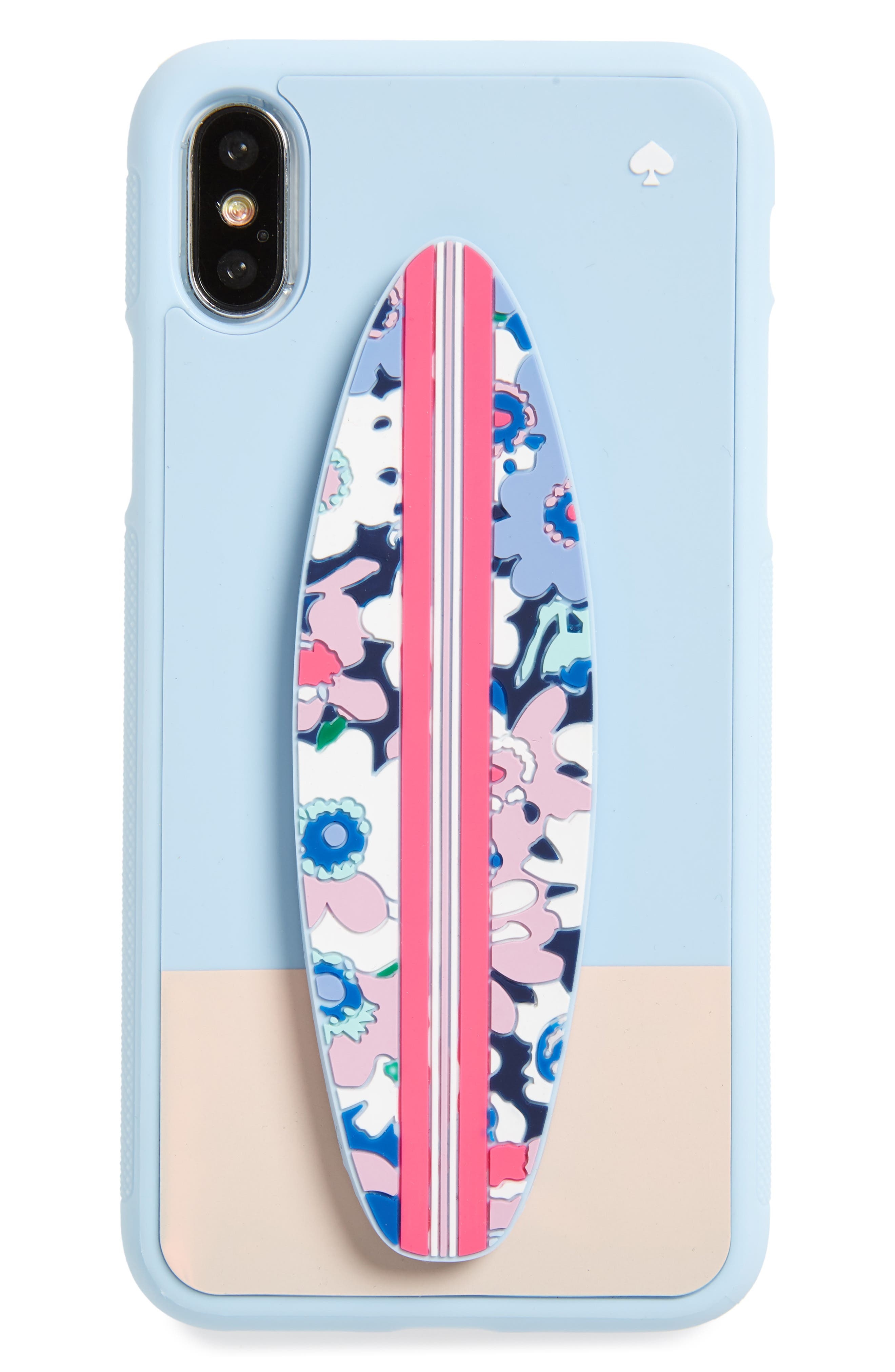 surfboard stand iPhone X/Xs case,                             Main thumbnail 1, color,                             460