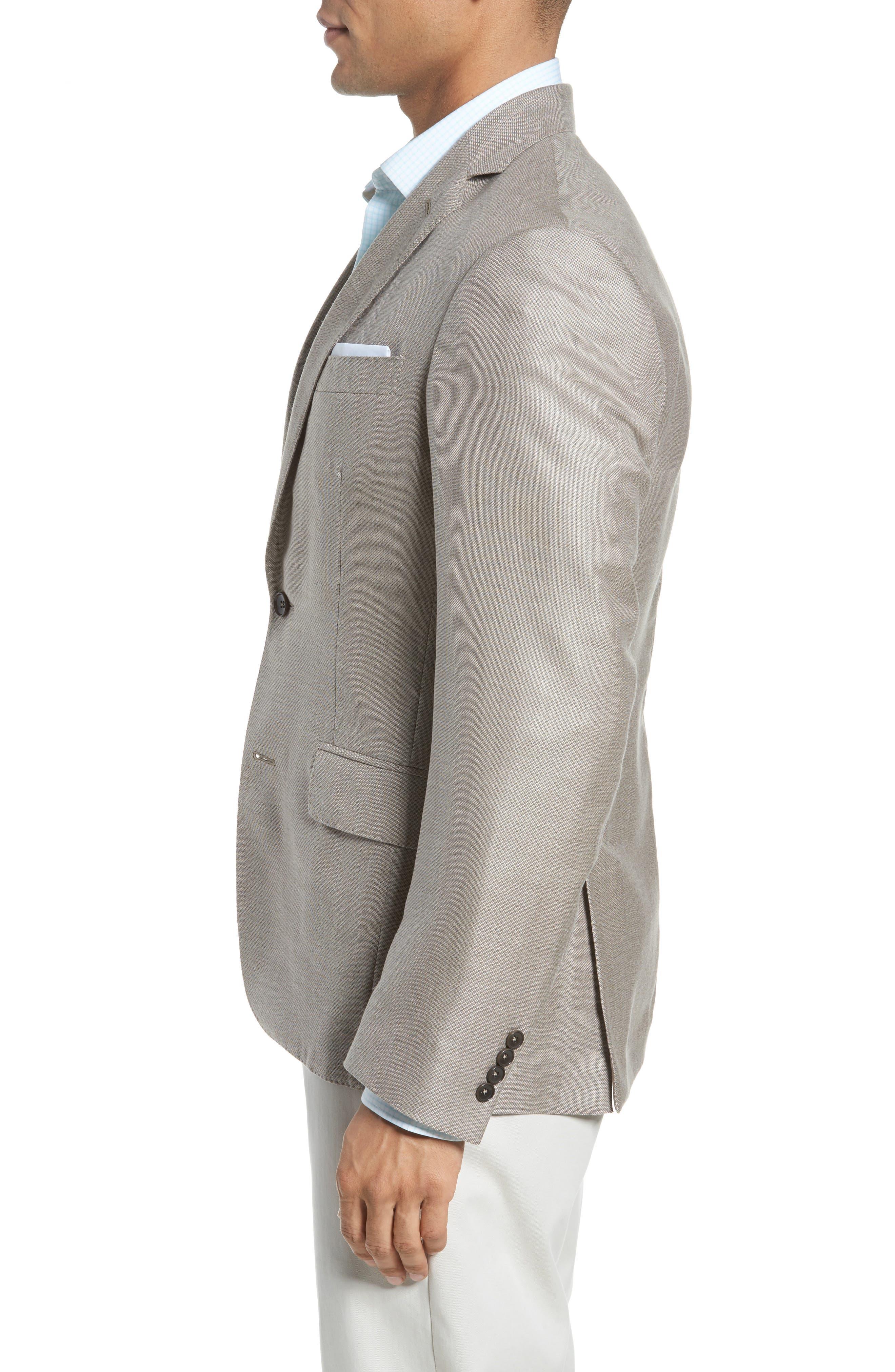 Trim Fit Cashmere & Silk Blazer,                             Alternate thumbnail 10, color,
