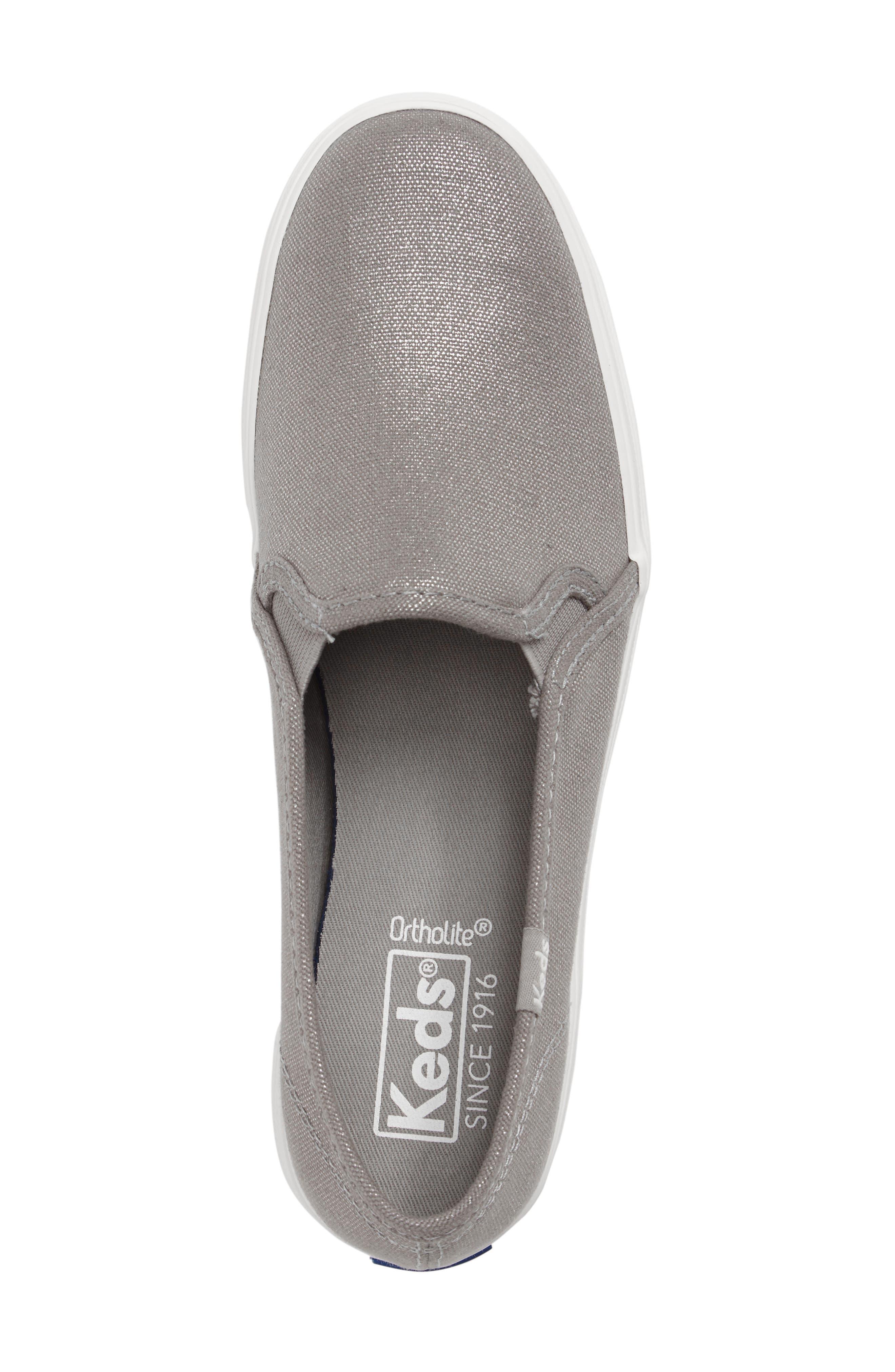 Triple Decker Slip-On Platform Sneaker,                             Alternate thumbnail 40, color,