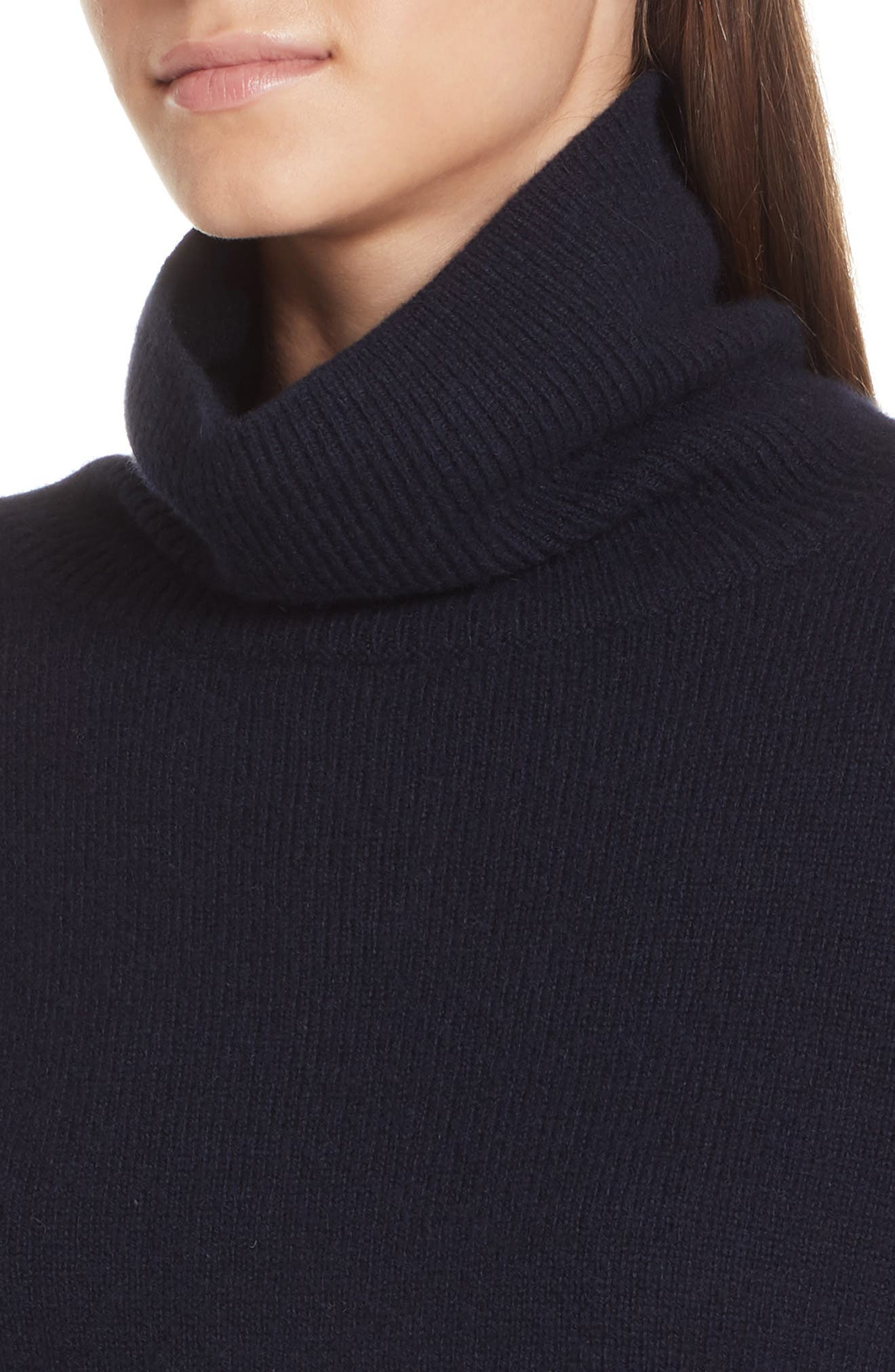Bishop Sleeve Cashmere Sweater,                             Alternate thumbnail 4, color,                             403
