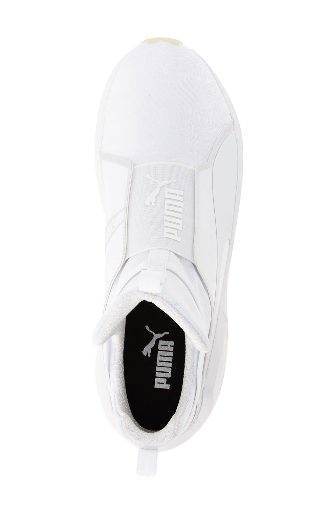 PUMA,                             'Fierce Bright' Sneaker,                             Alternate thumbnail 3, color,                             100