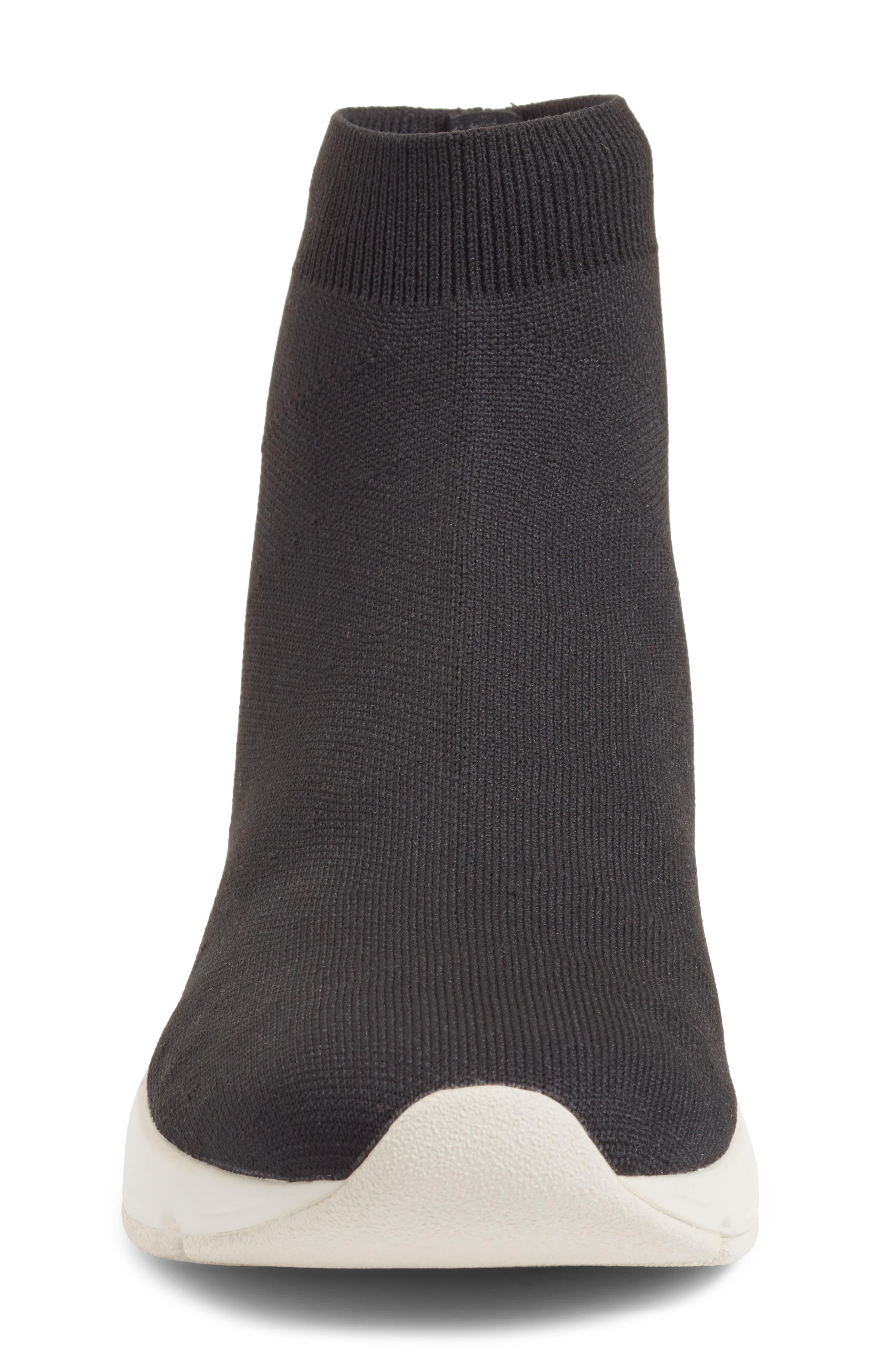 Tyra Sock Sneaker,                             Alternate thumbnail 4, color,                             001
