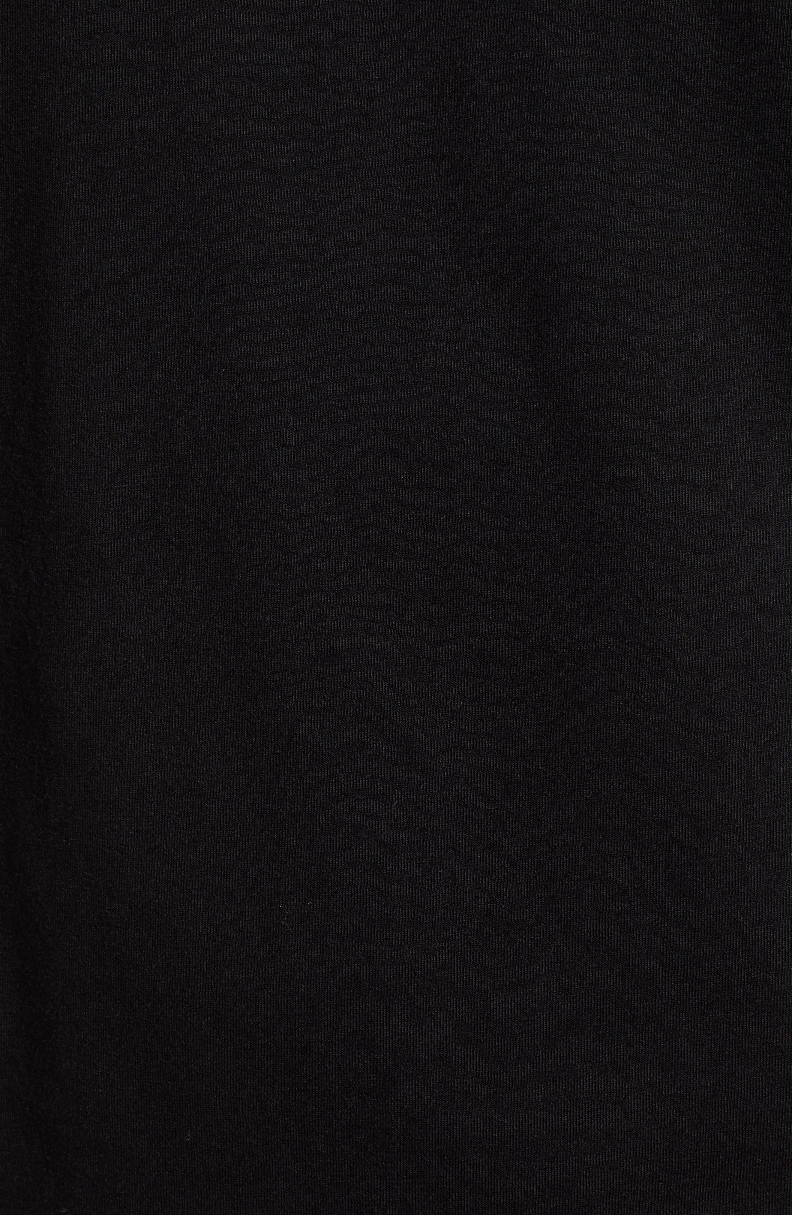 Dozer Logo T-Shirt,                             Alternate thumbnail 5, color,                             BLACK