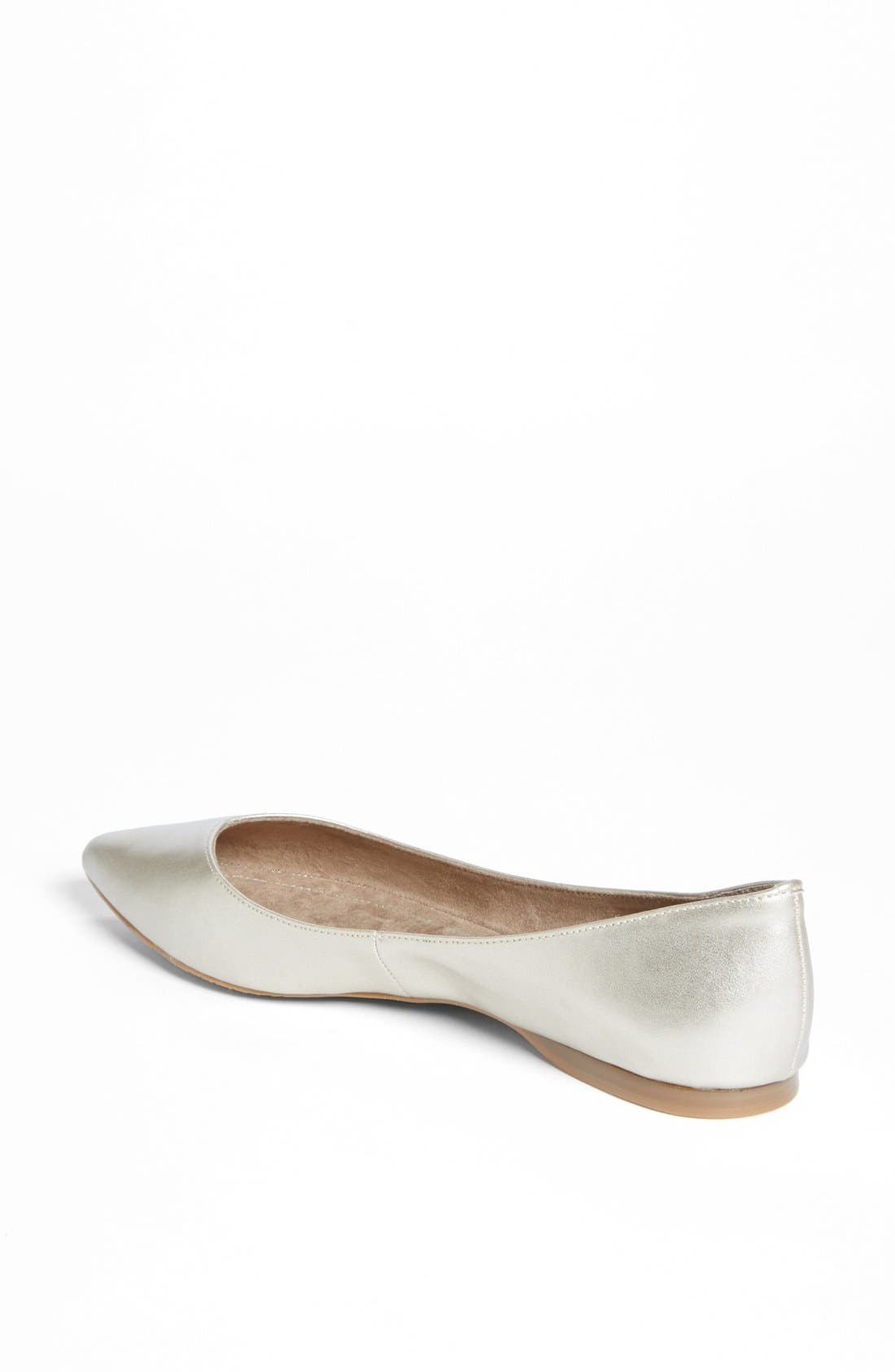 'Moveover' Pointy Toe Flat,                             Alternate thumbnail 38, color,