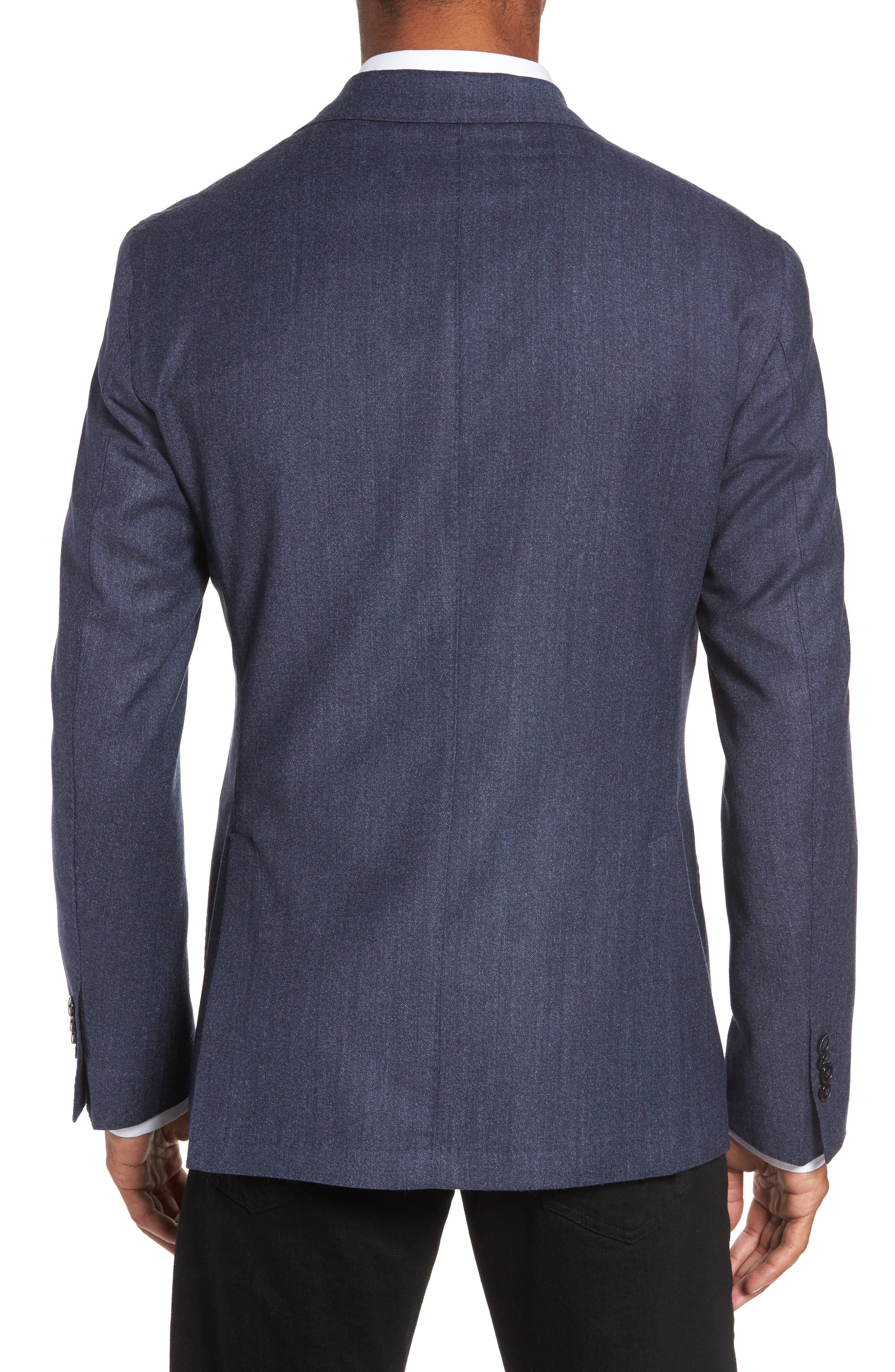Classic Fit Wool Blazer,                             Alternate thumbnail 2, color,