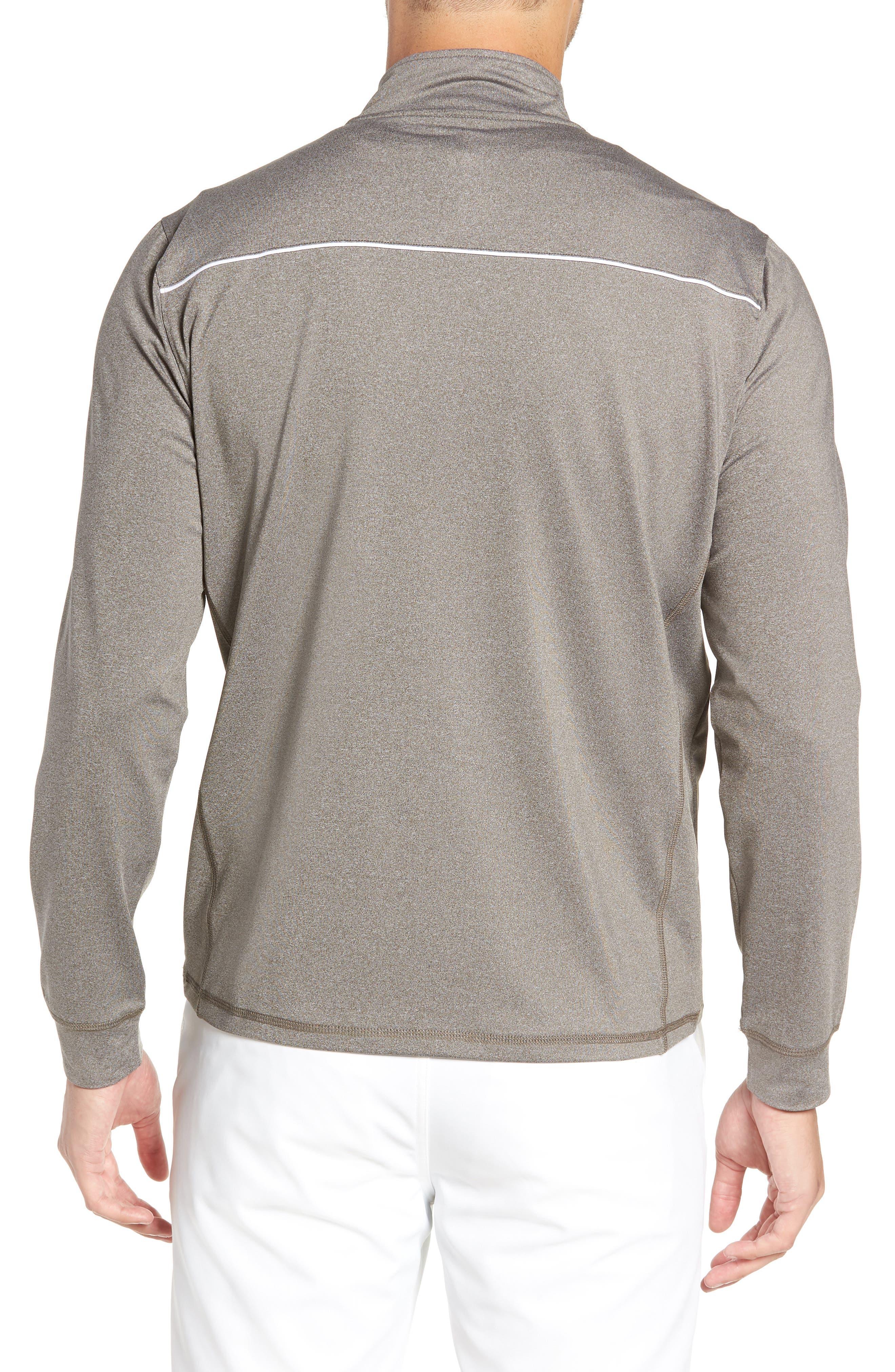 Lammie Regular Fit Quarter Zip Prep-Formance Pullover,                             Alternate thumbnail 2, color,                             METEOR