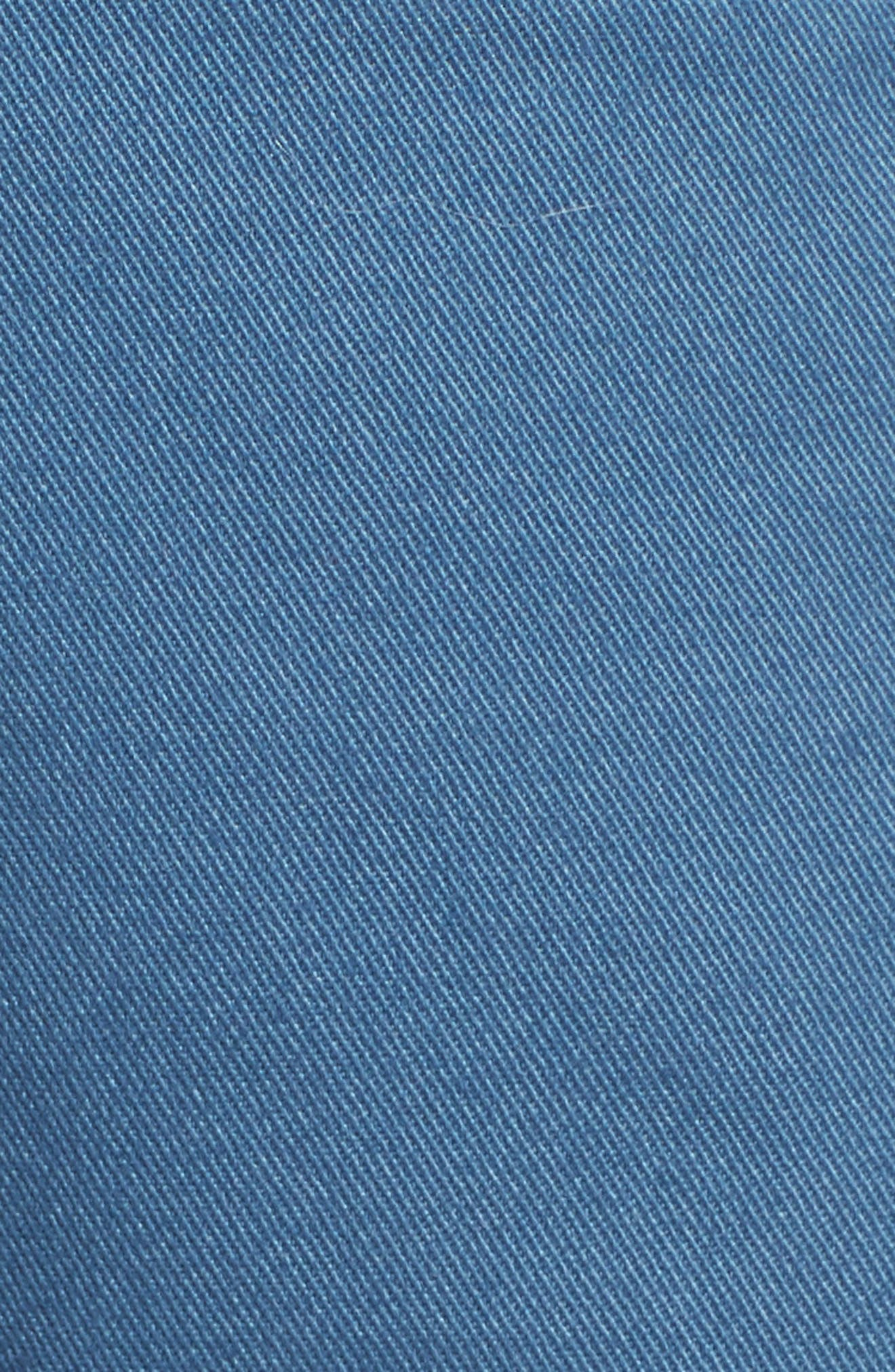 Tailored Fit Washed Stretch Cotton Chinos,                             Alternate thumbnail 173, color,