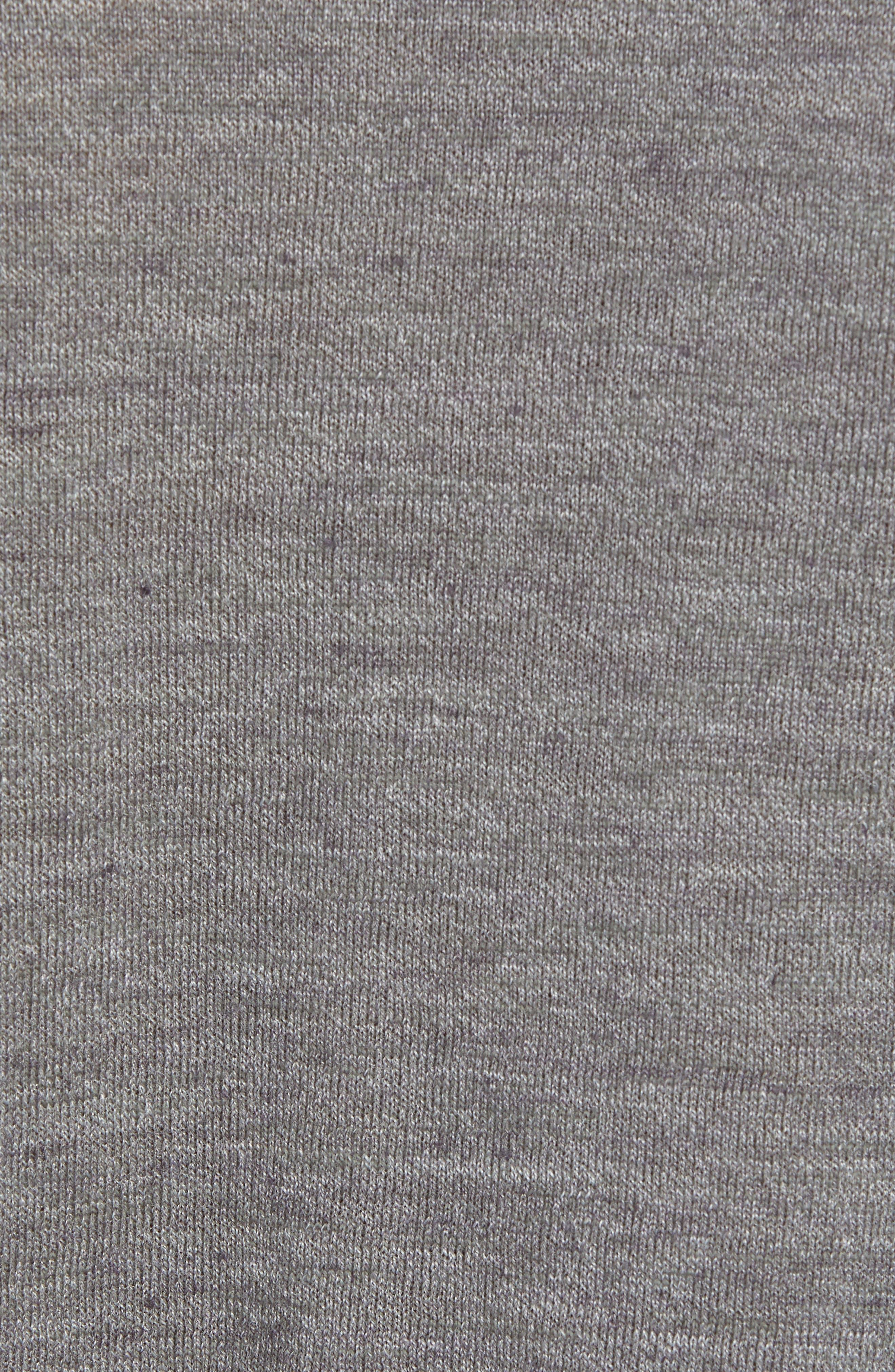 Cotton Blend Crewneck Sweater,                             Alternate thumbnail 5, color,                             022