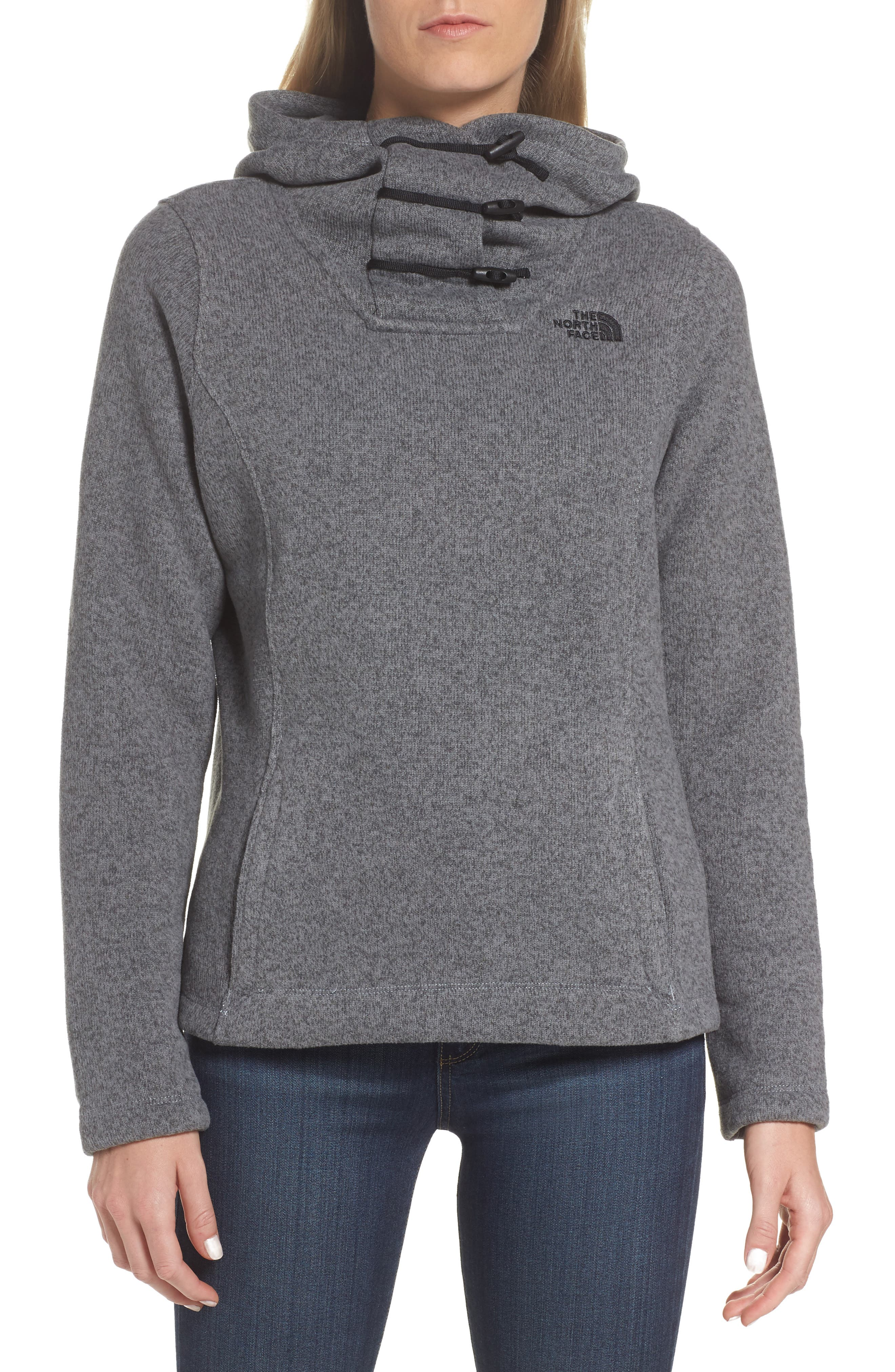 THE NORTH FACE,                             Crescent Hoodie,                             Main thumbnail 1, color,                             030
