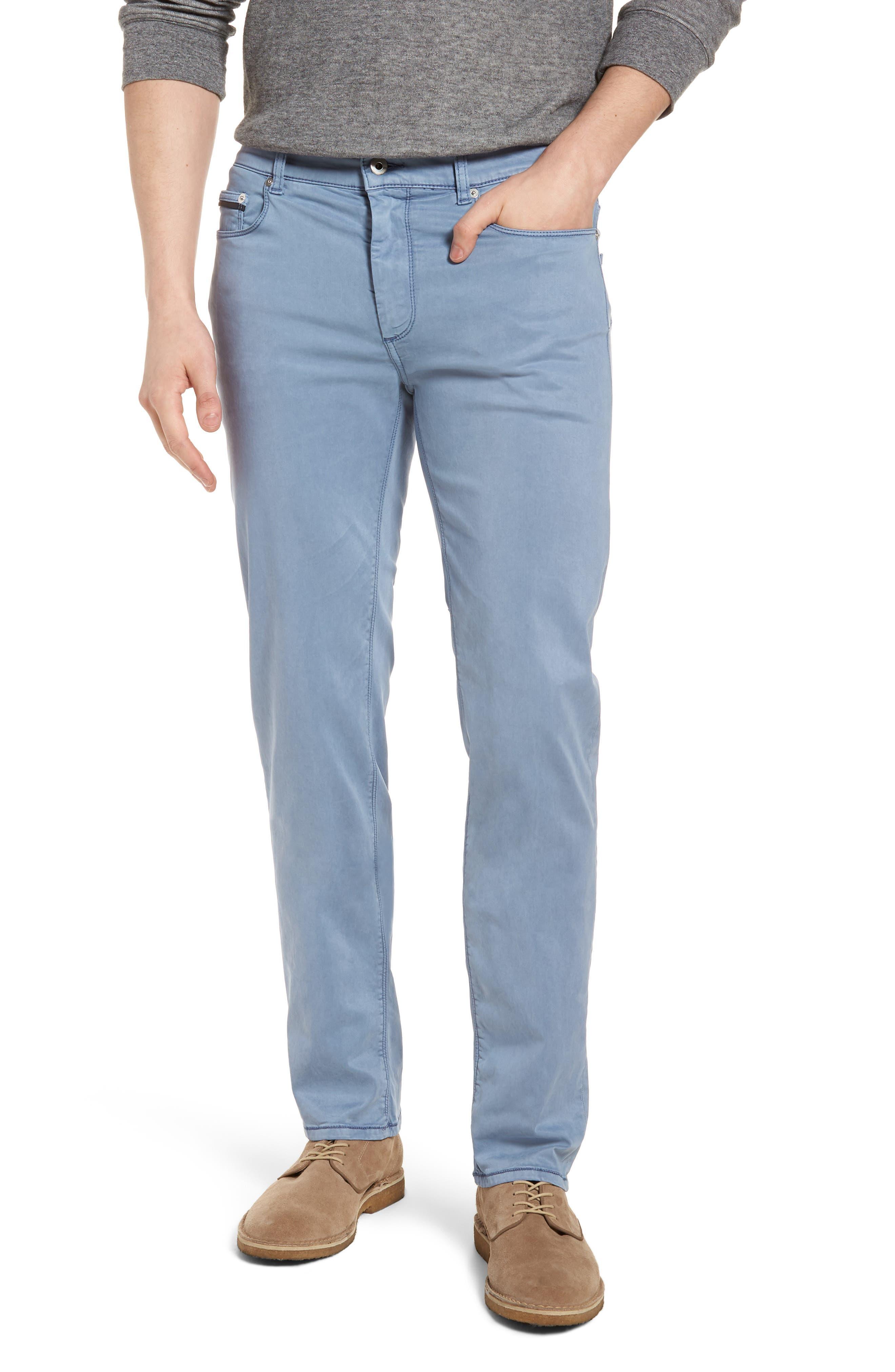 Slim Fit Washed Five-Pocket Pants,                             Main thumbnail 4, color,