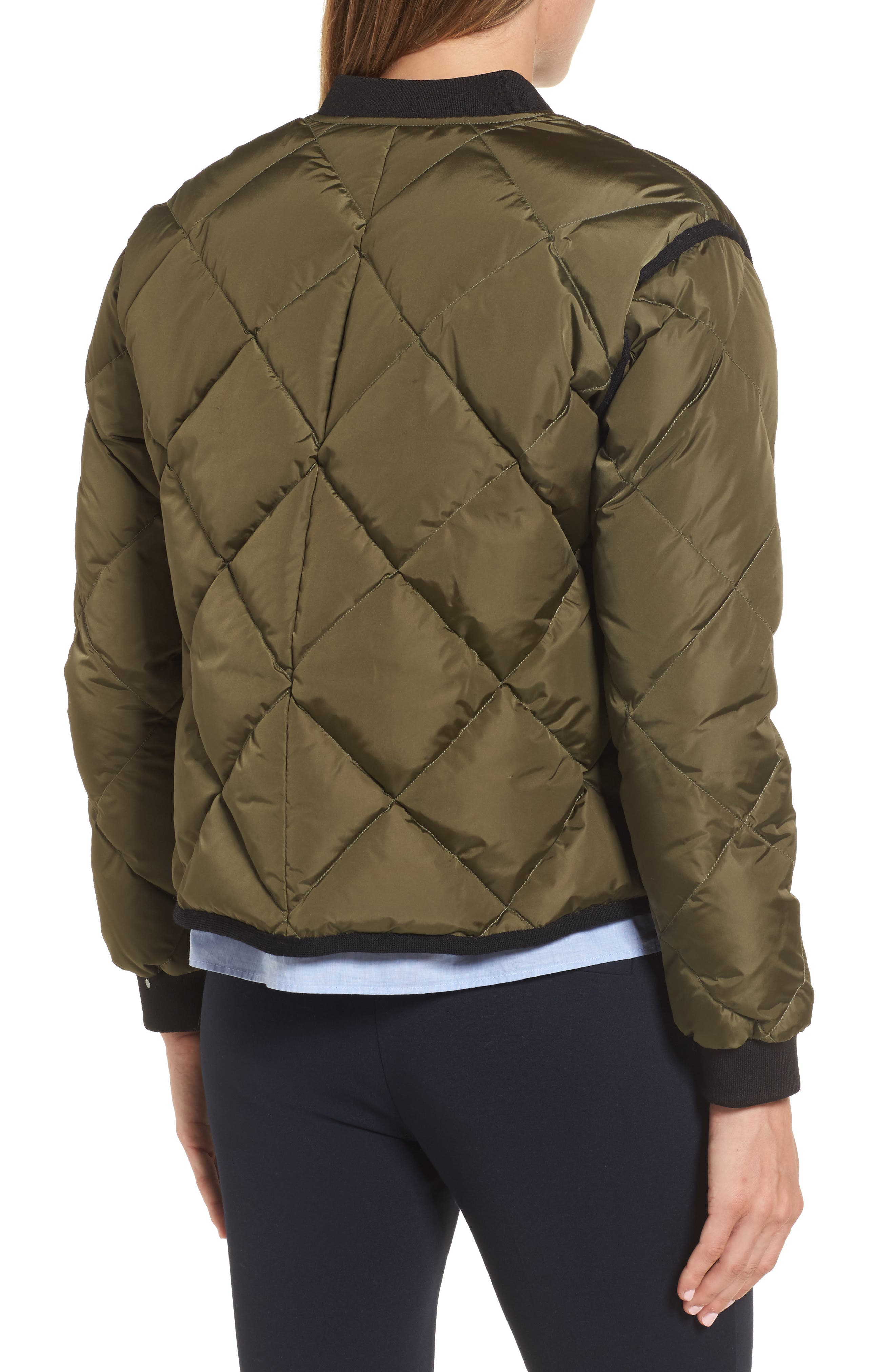 Quilted Bomber Jacket,                             Alternate thumbnail 2, color,                             315