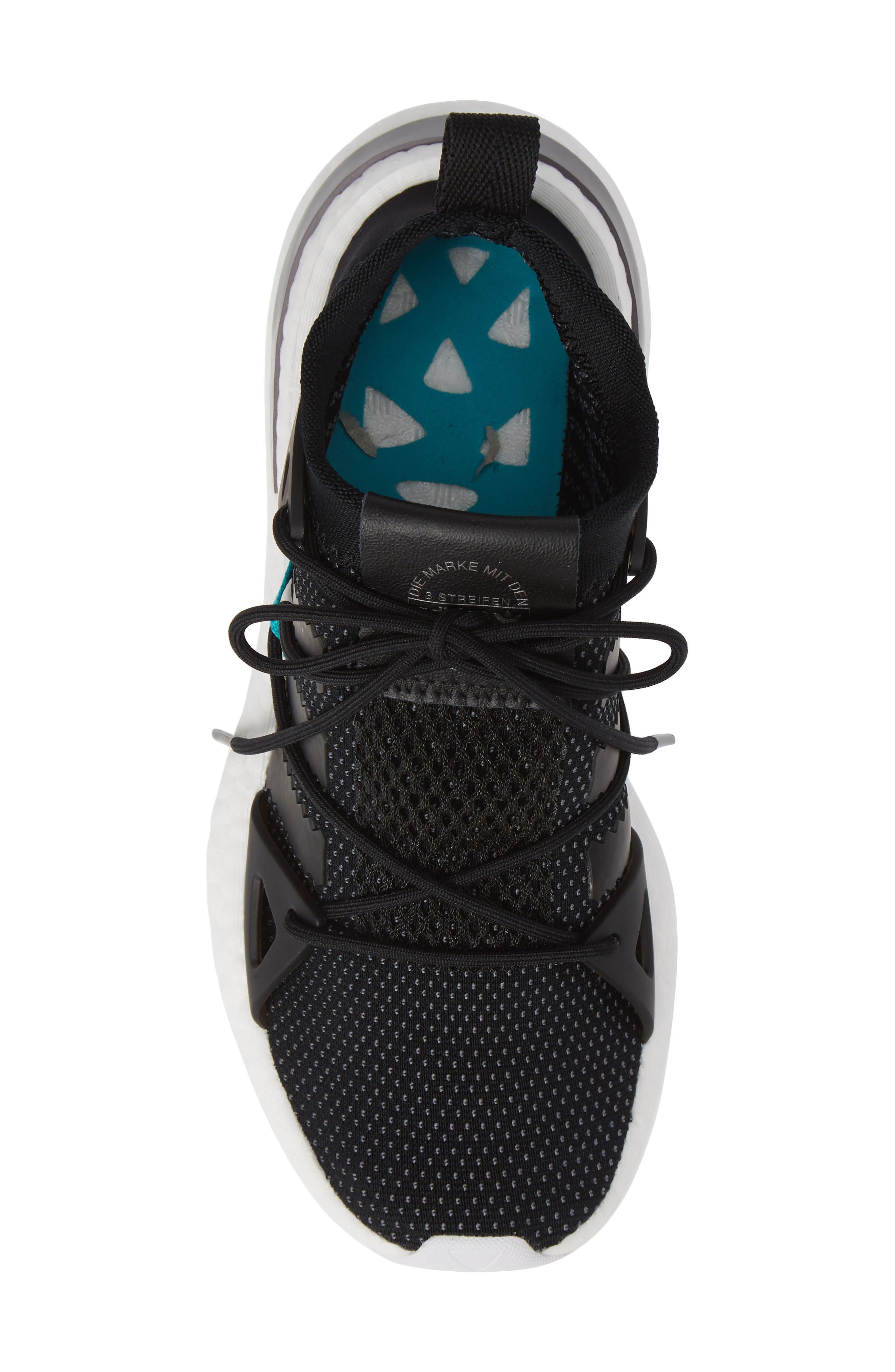 Arkyn Sneaker,                             Alternate thumbnail 5, color,                             BLACK/ BLACK/ WHITE