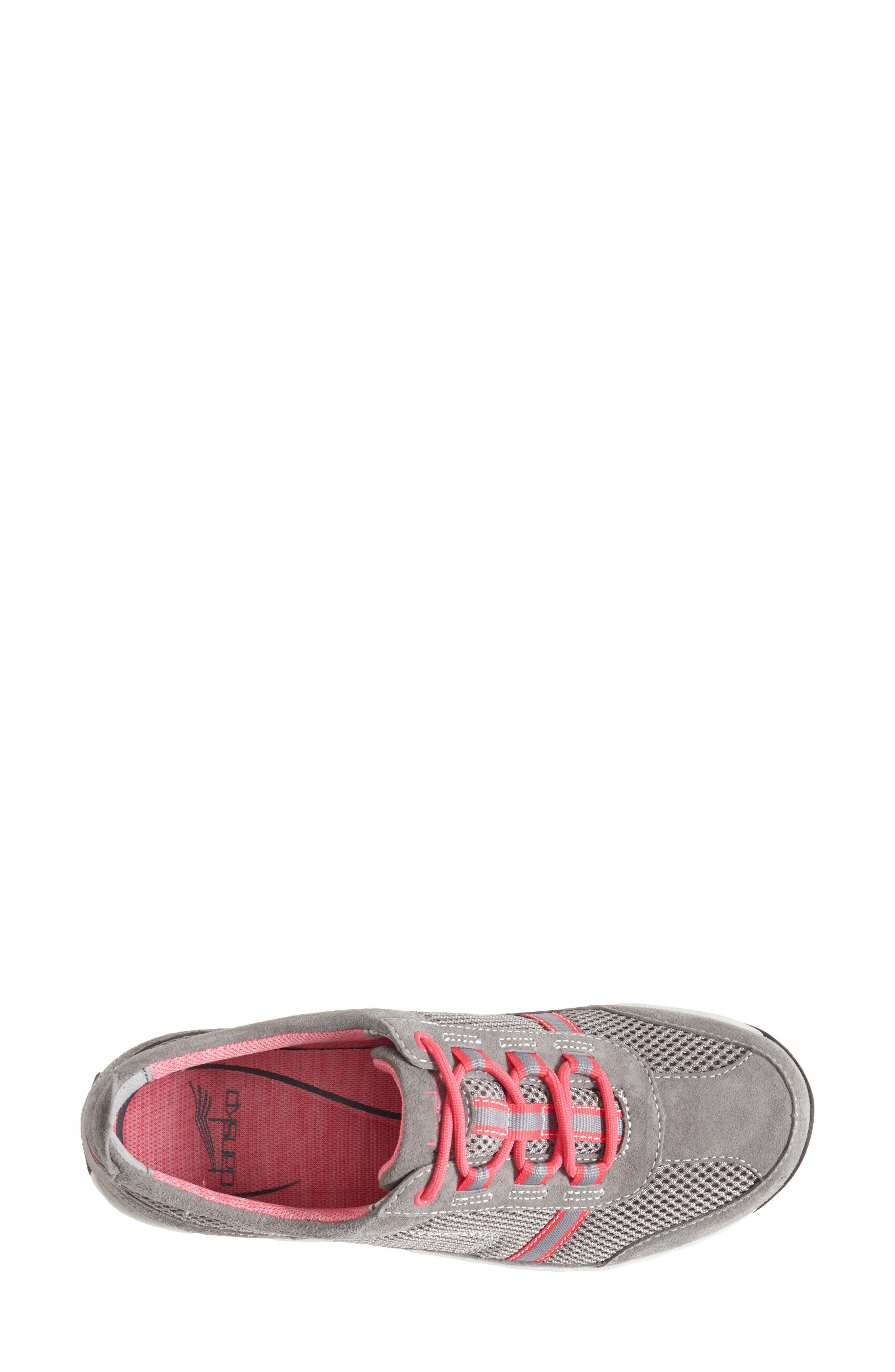'Helen' Suede & Mesh Sneaker,                             Alternate thumbnail 20, color,