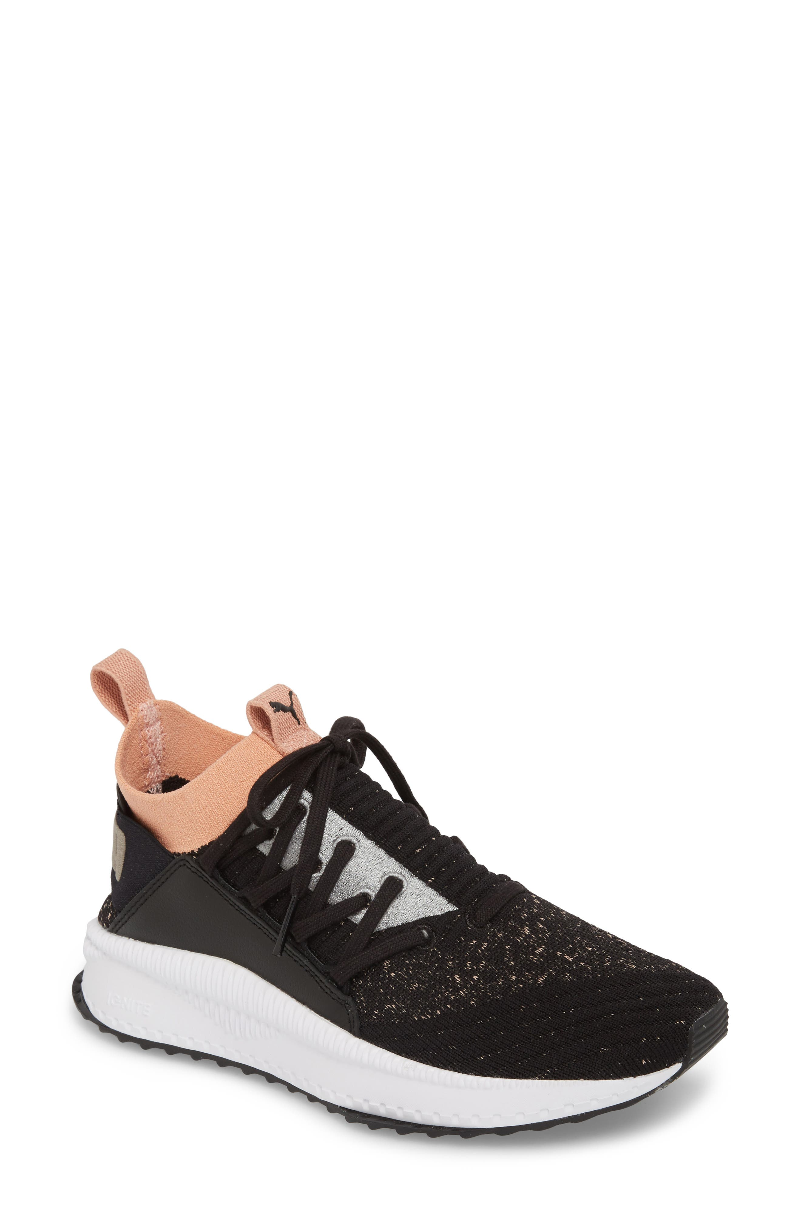 Tsugi Jun Knit Sneaker,                         Main,                         color, 001