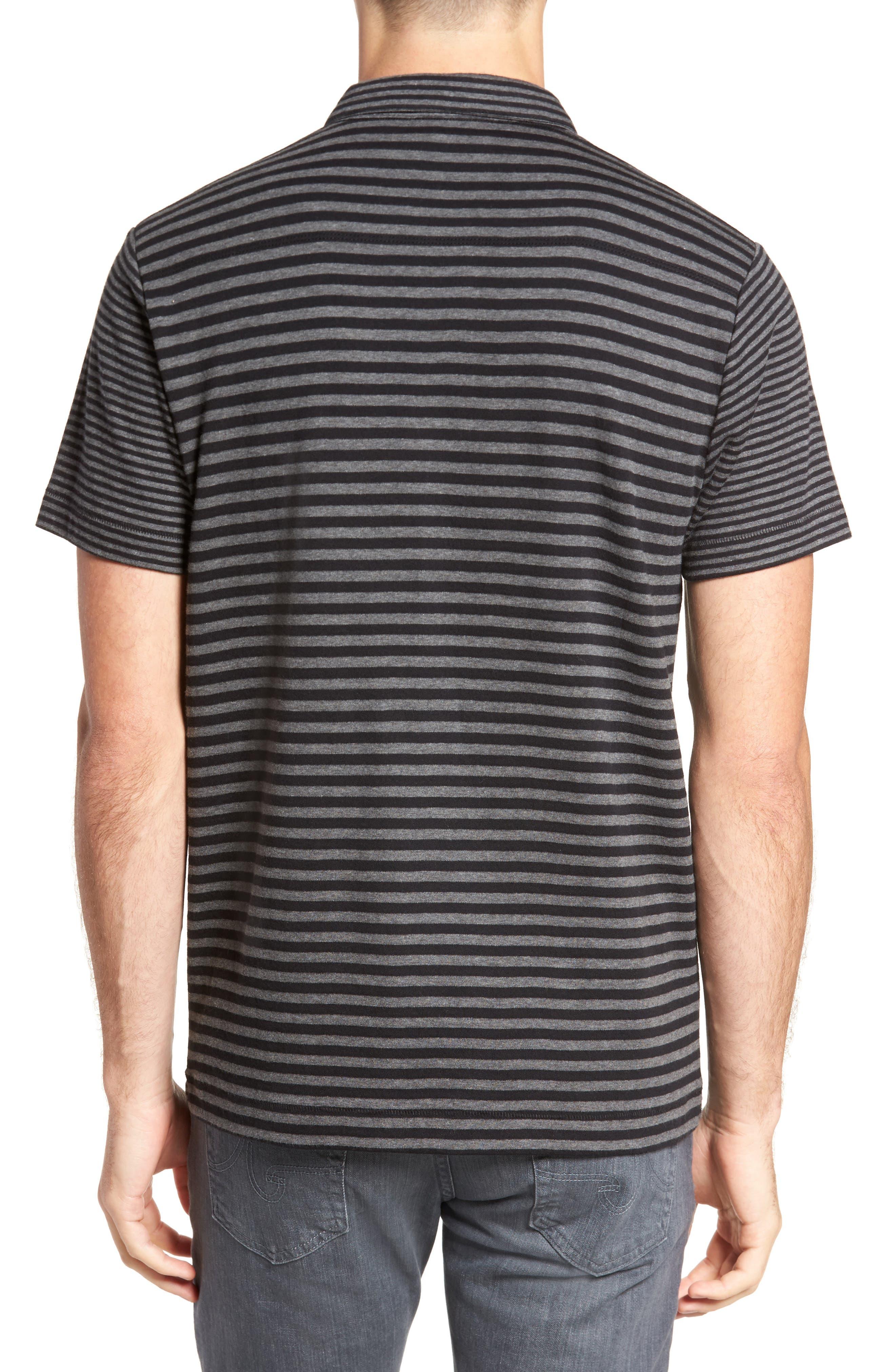 Alternative Stripe Short Sleeve Polo,                             Alternate thumbnail 2, color,