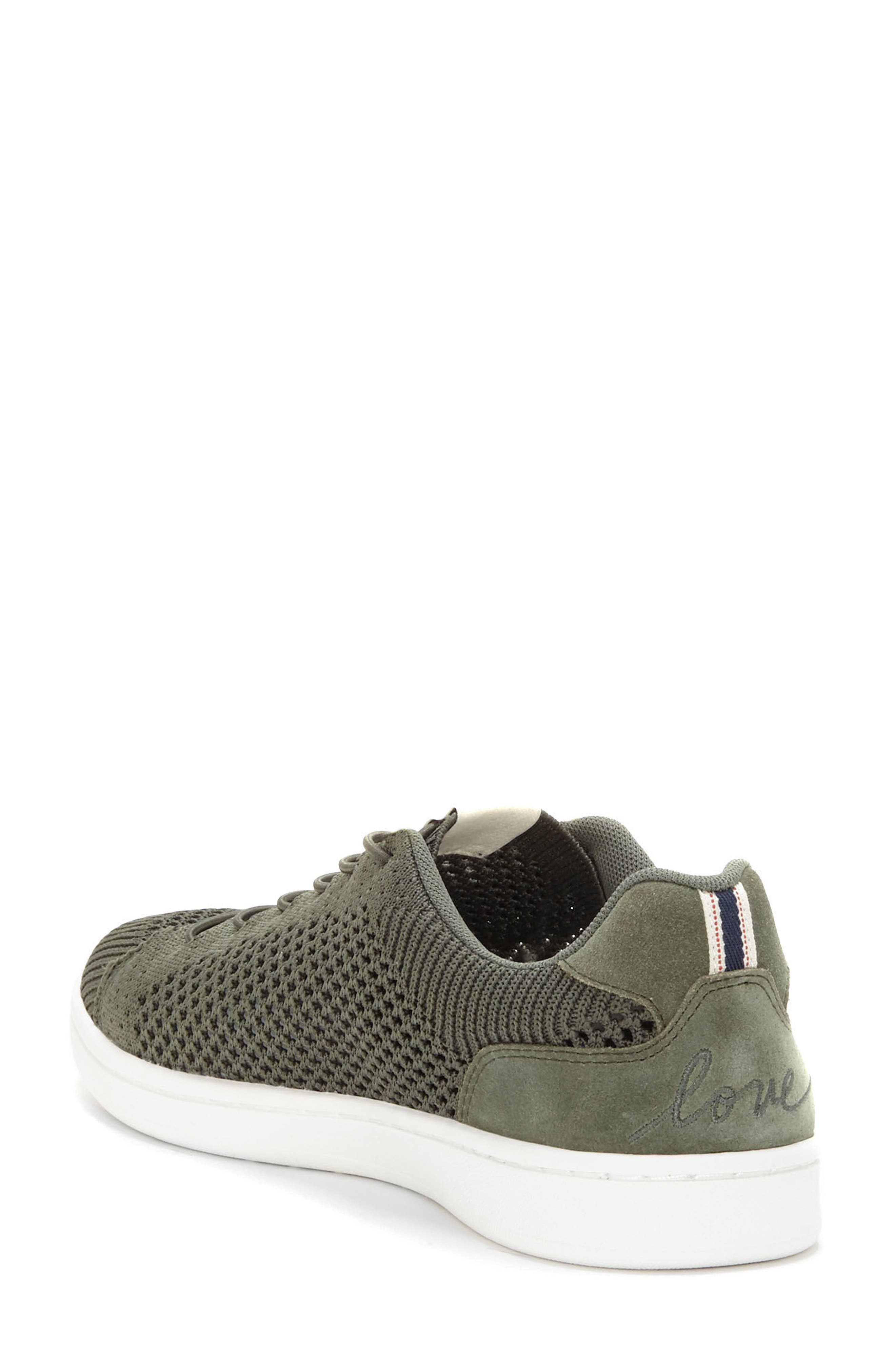 Casie Knit Sneaker,                             Alternate thumbnail 2, color,                             FOREST KNIT FABRIC