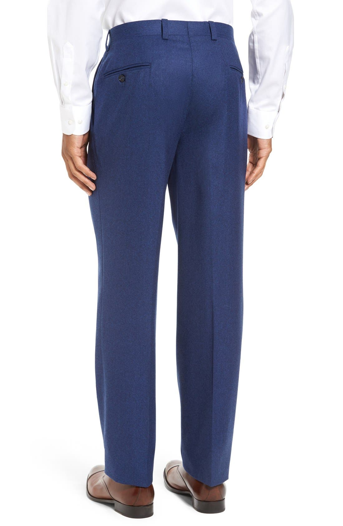 'Ryan' Classic Fit Trousers,                             Alternate thumbnail 9, color,