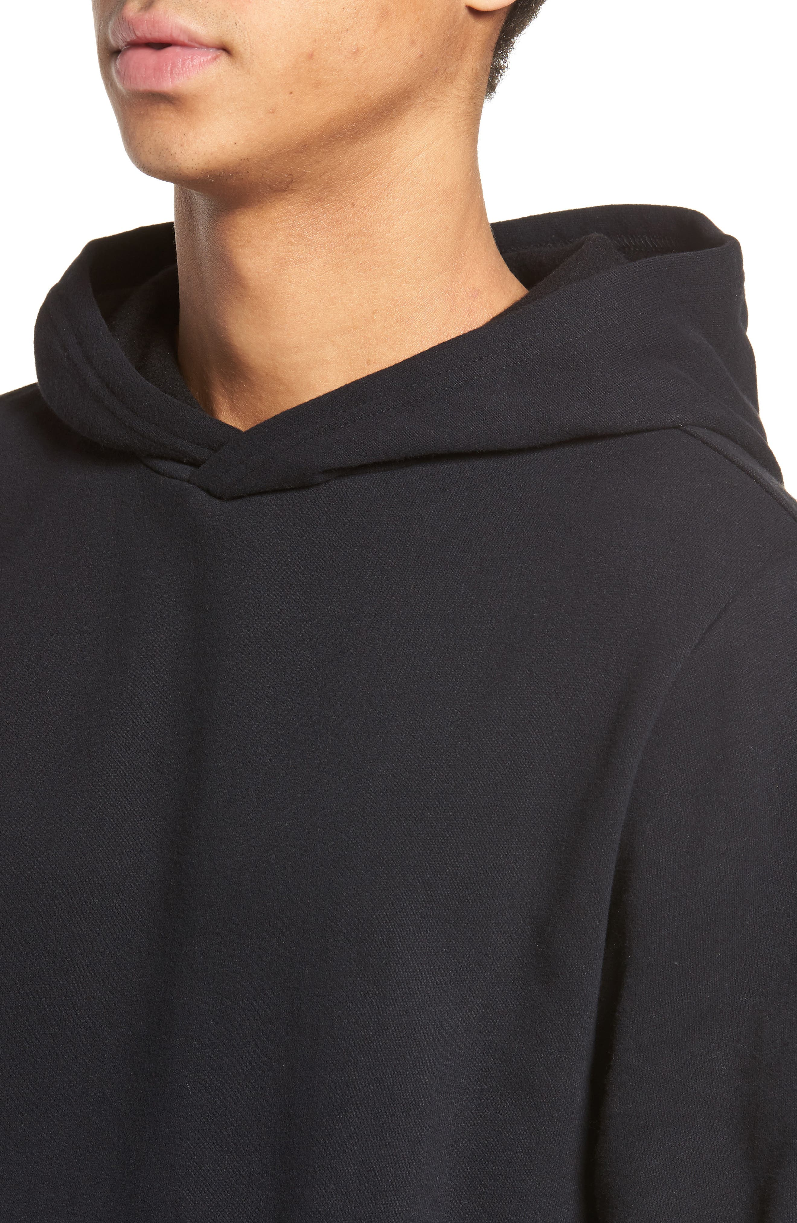 Fleece Hoodie,                             Alternate thumbnail 4, color,                             001