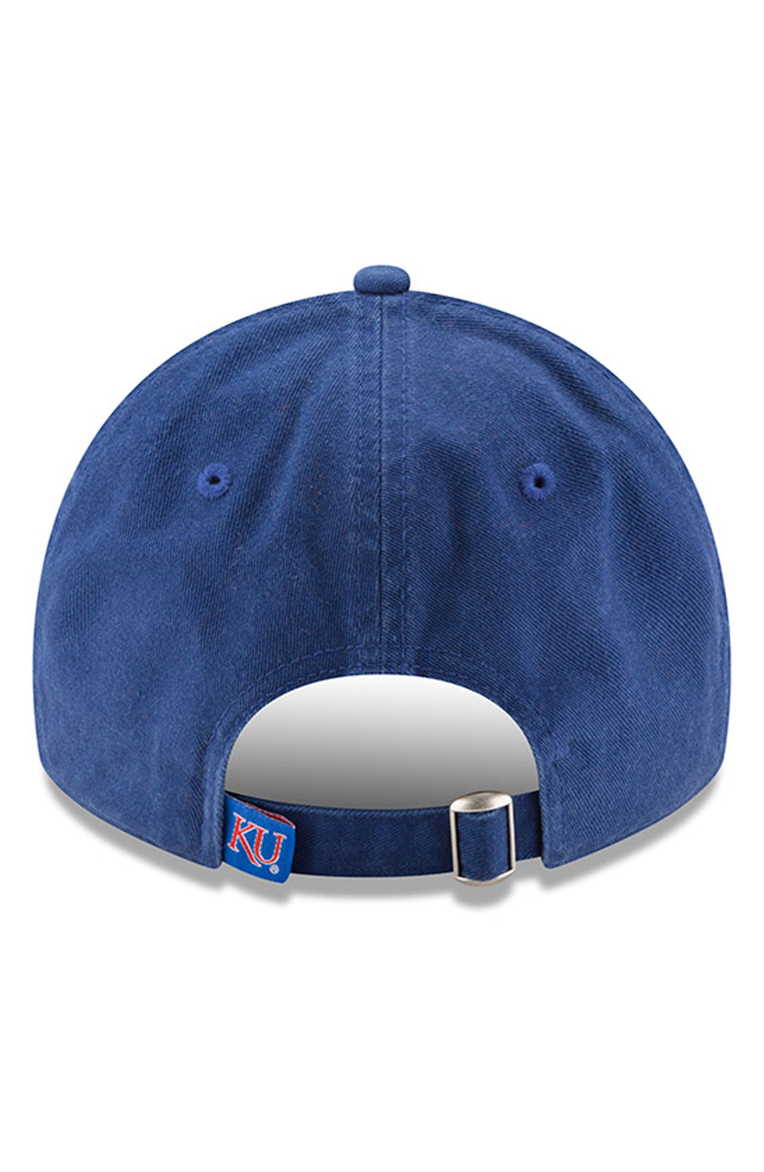 New Era Collegiate Core Classic - Kansas Jayhawks Baseball Cap,                             Alternate thumbnail 3, color,                             400