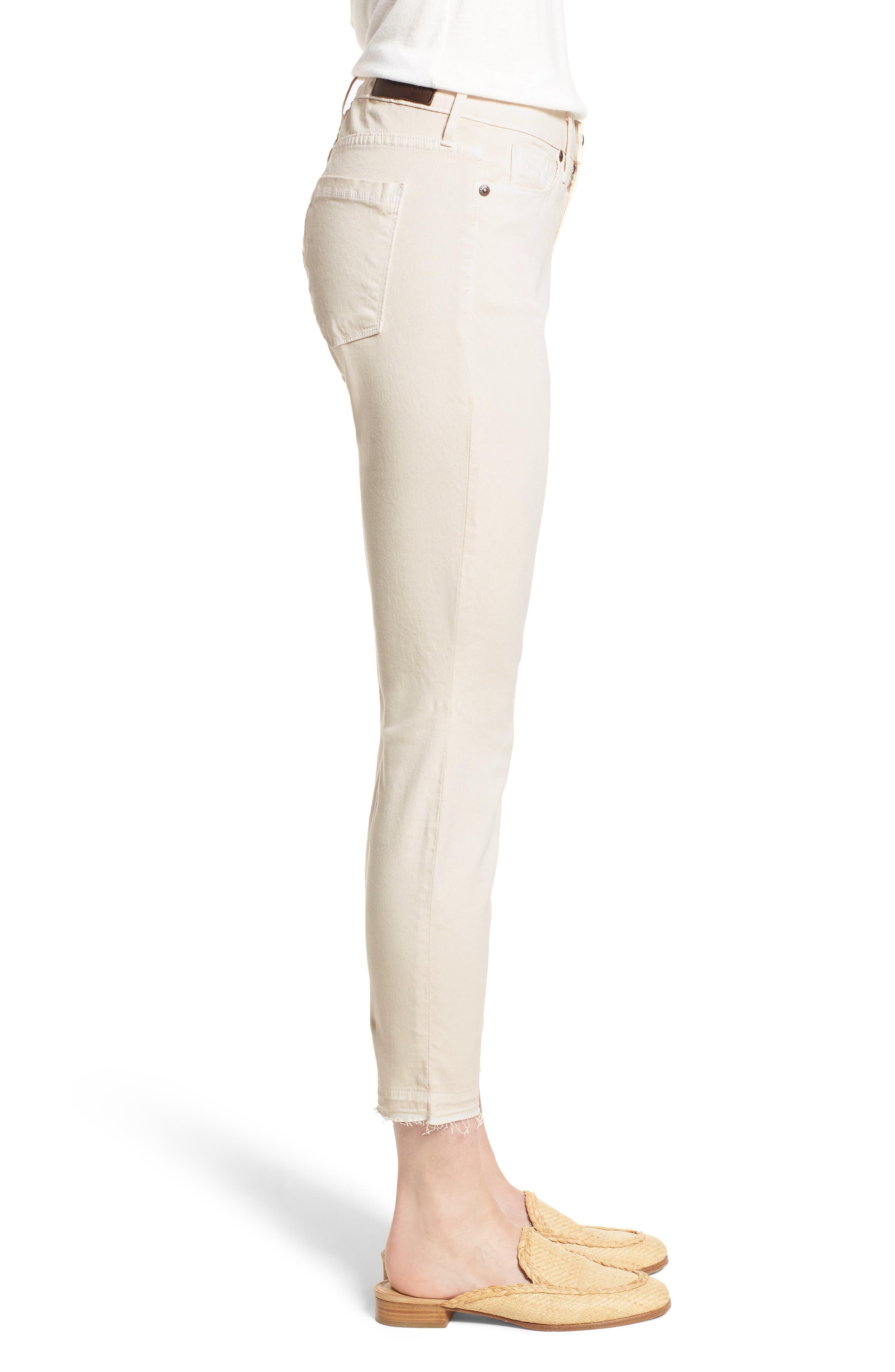 Ava Crop Skinny Jeans,                             Alternate thumbnail 3, color,