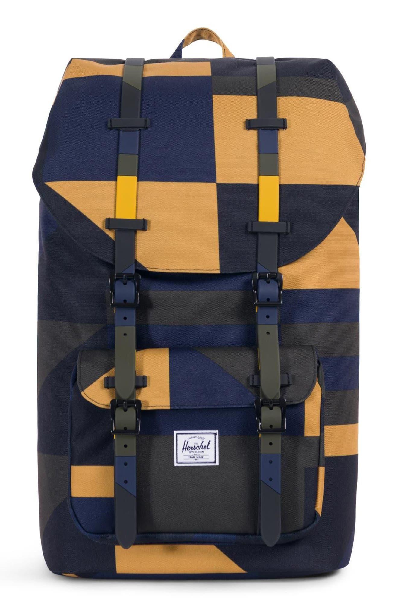 Little America Backpack,                         Main,                         color, ARROW WOOD FRONTIER GEO