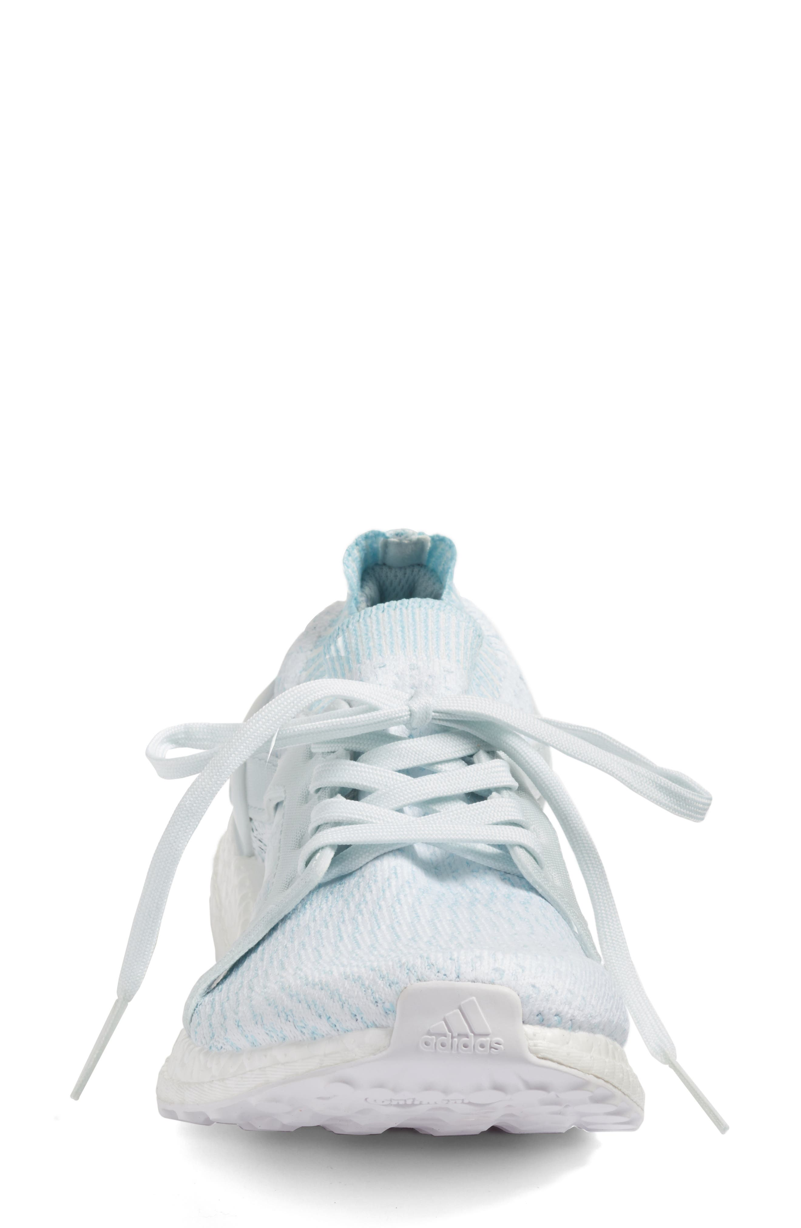 by Stella McCartney UltraBoost x Parley Running Shoe,                             Alternate thumbnail 18, color,