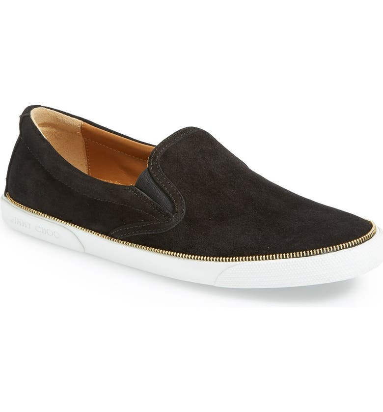 1344eb5e6252 Jimmy Choo  Demi  Glitter Slip-On Sneaker (Women)