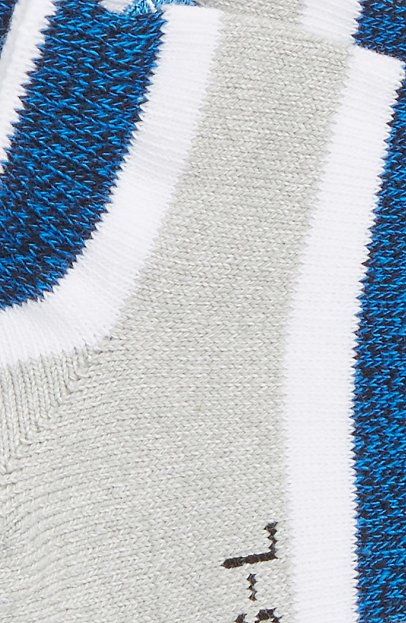 Boyd Striped No-Show Socks,                             Alternate thumbnail 2, color,                             420