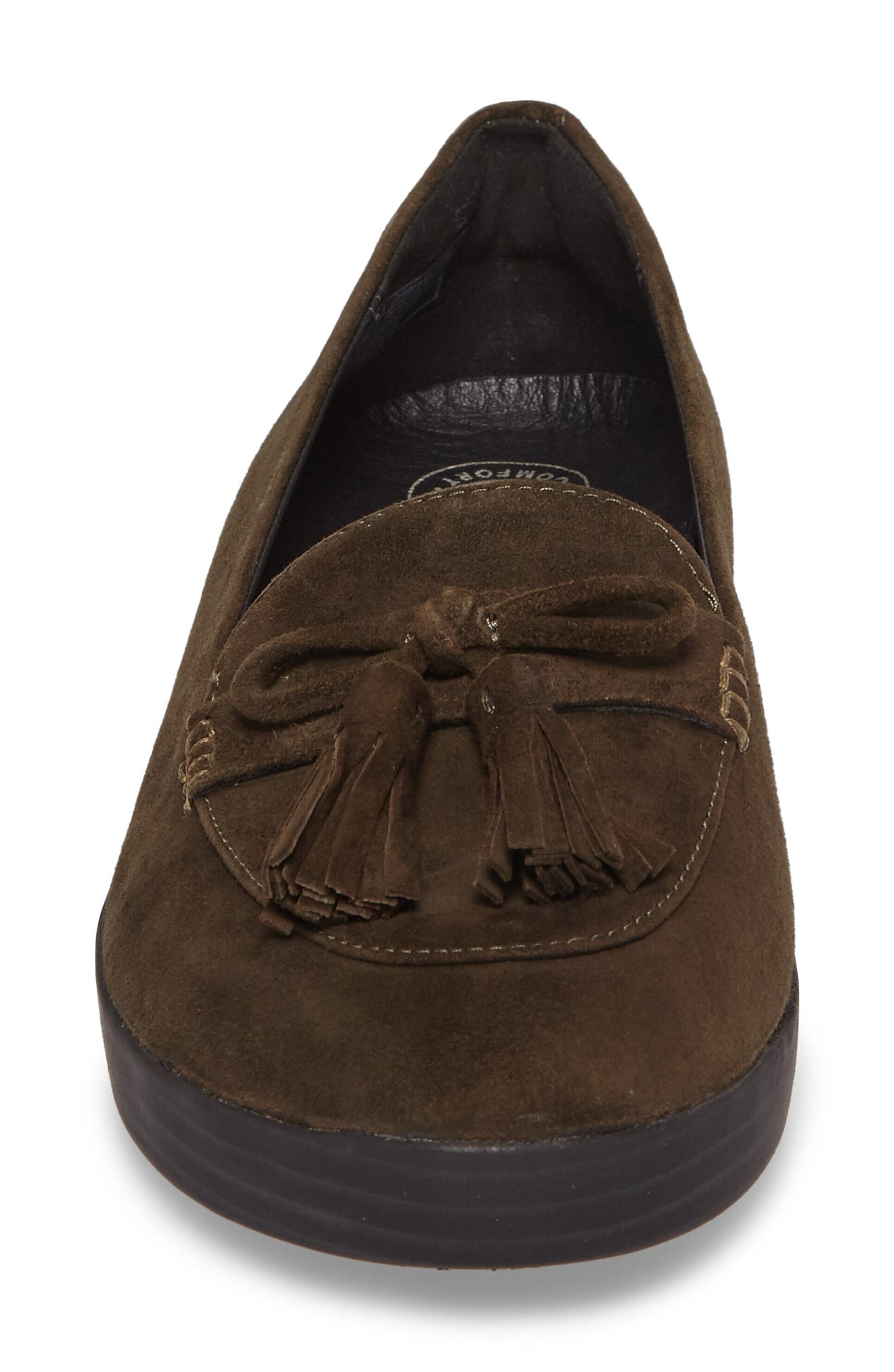 Tassel Bow Sneakerloafer<sup>™</sup> Water Repellent Flat,                             Alternate thumbnail 14, color,