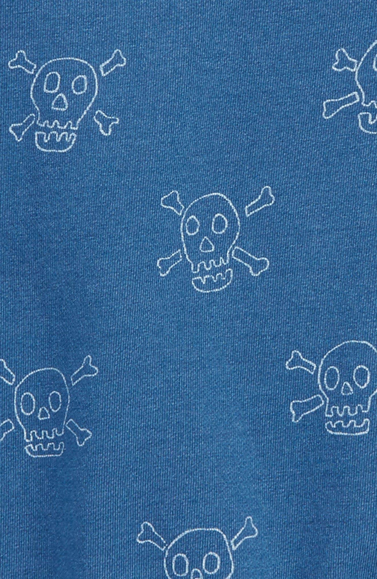 Castaway Skulls Sweatshirt,                             Alternate thumbnail 2, color,                             424