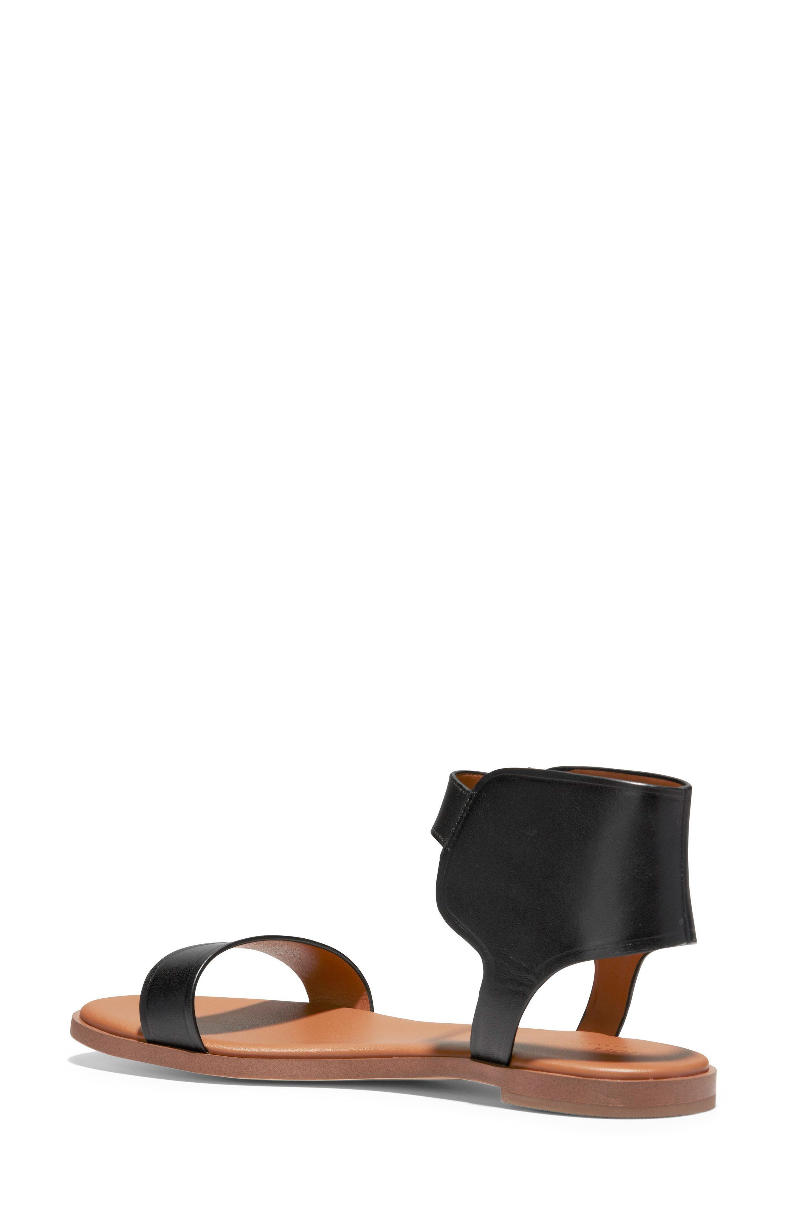 COLE HAAN,                             Anica Cuffed Sandal,                             Alternate thumbnail 2, color,                             001