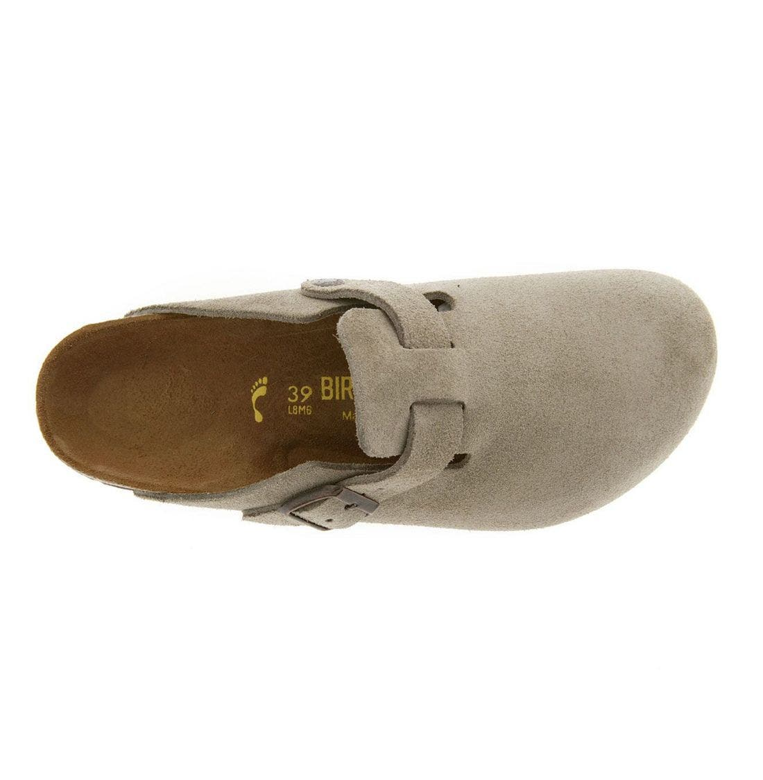 'Boston' Classic Oiled Leather Clog,                             Alternate thumbnail 26, color,