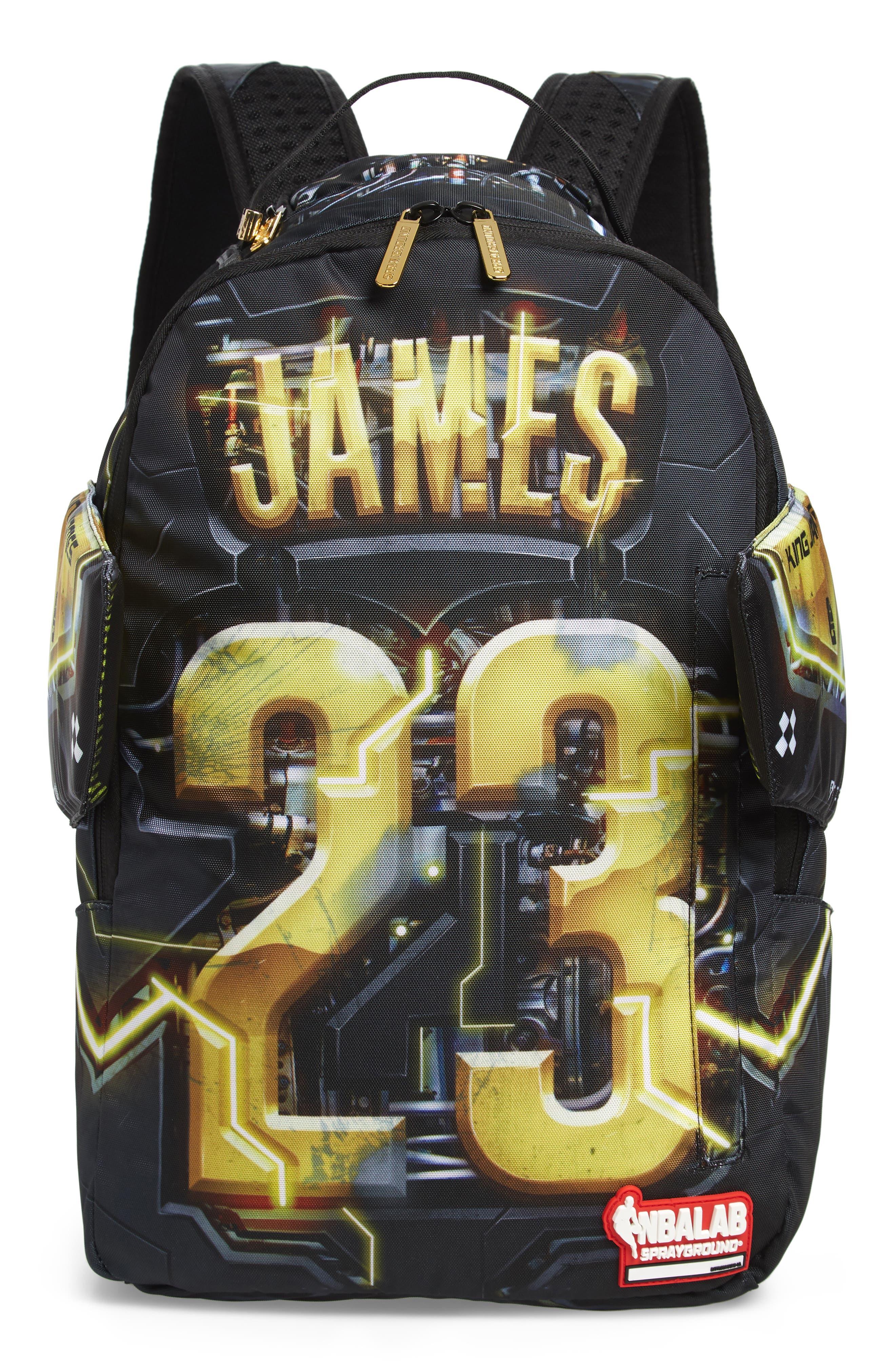 James Elysium Backpack,                             Main thumbnail 1, color,                             BLACK