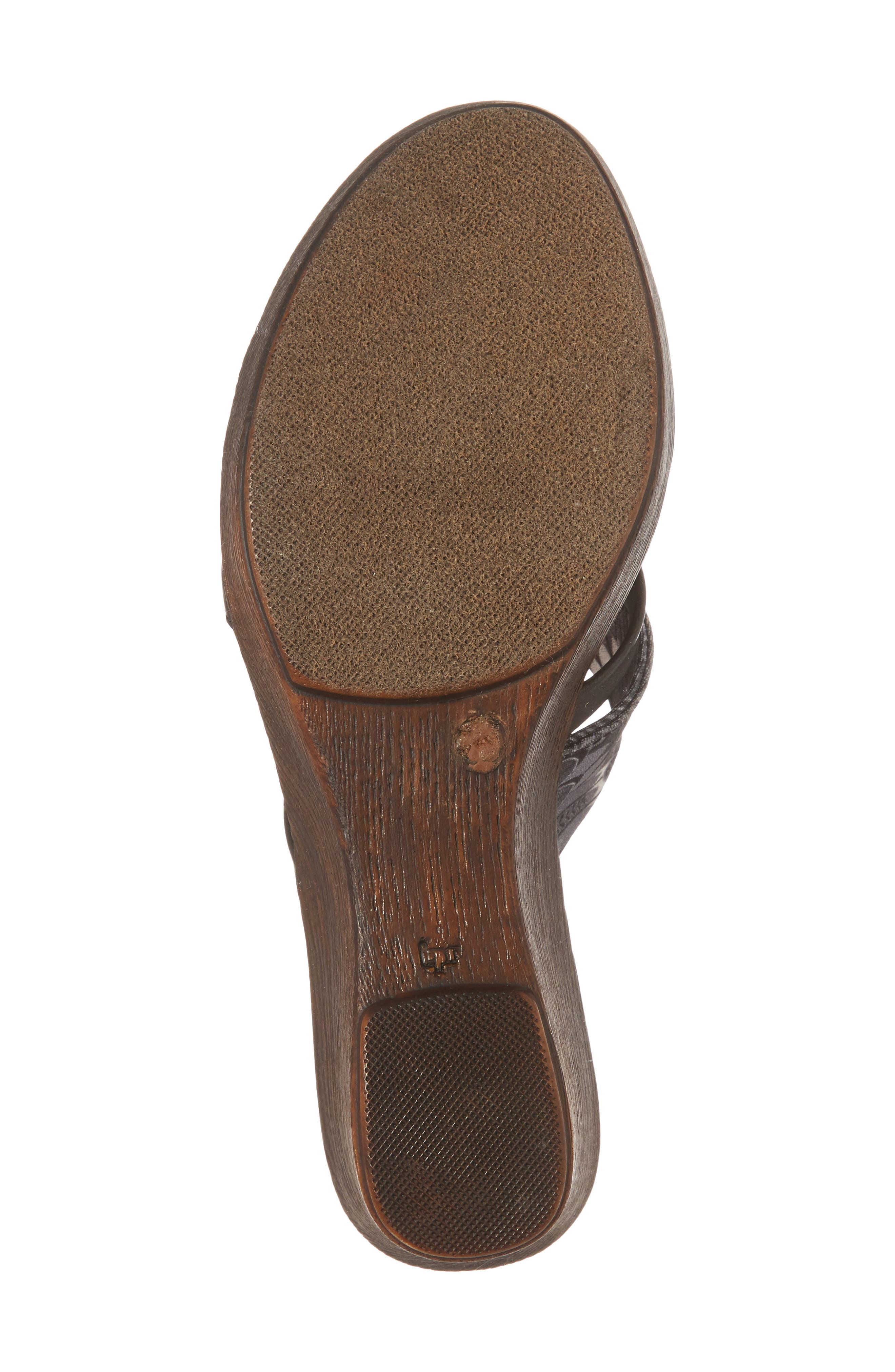 by East Street<sup>®</sup> Lucette Strappy Wedge Mule,                             Alternate thumbnail 6, color,                             008