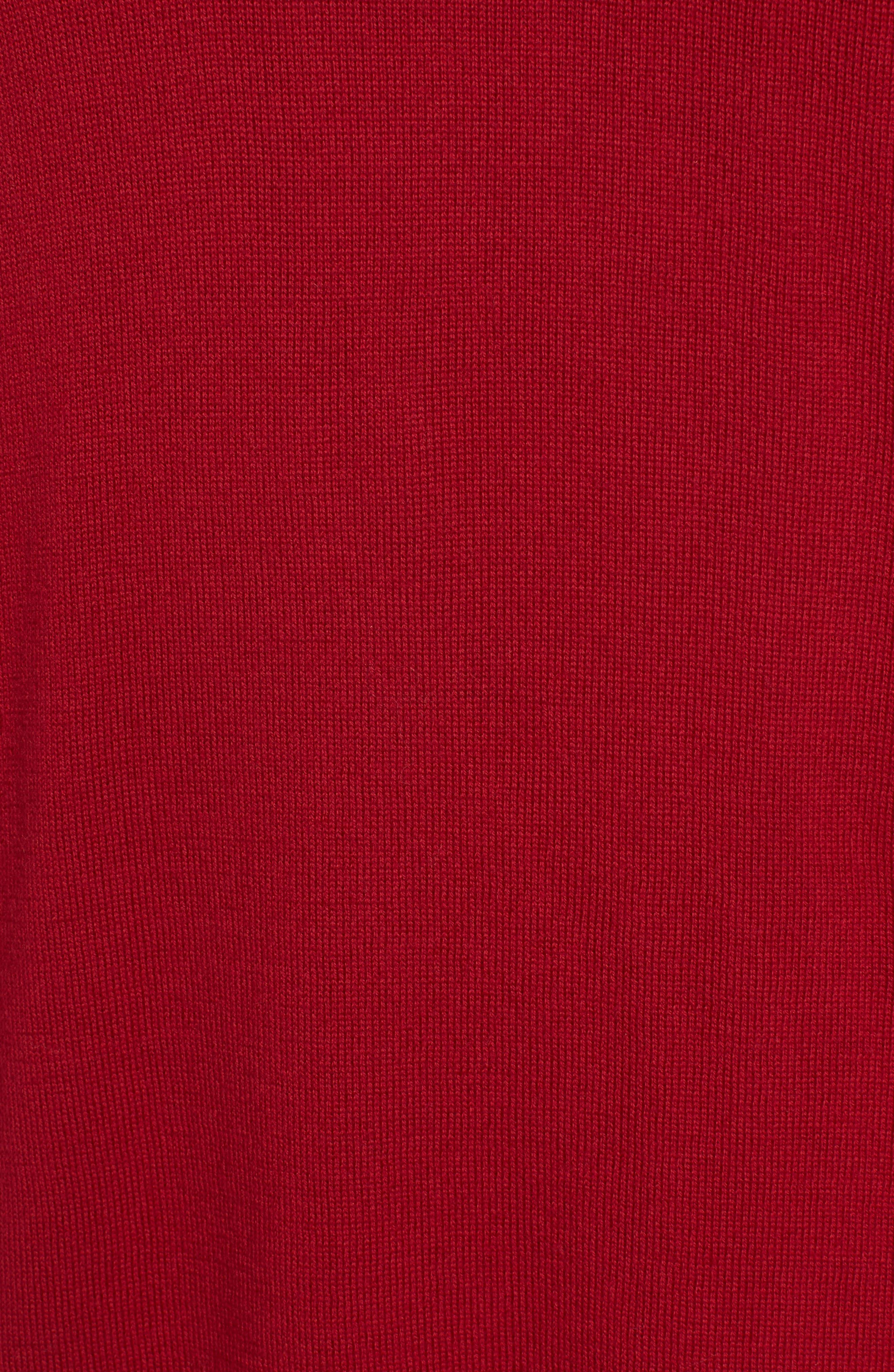 Lightweight Merino Jersey V-Neck Tunic,                             Alternate thumbnail 47, color,
