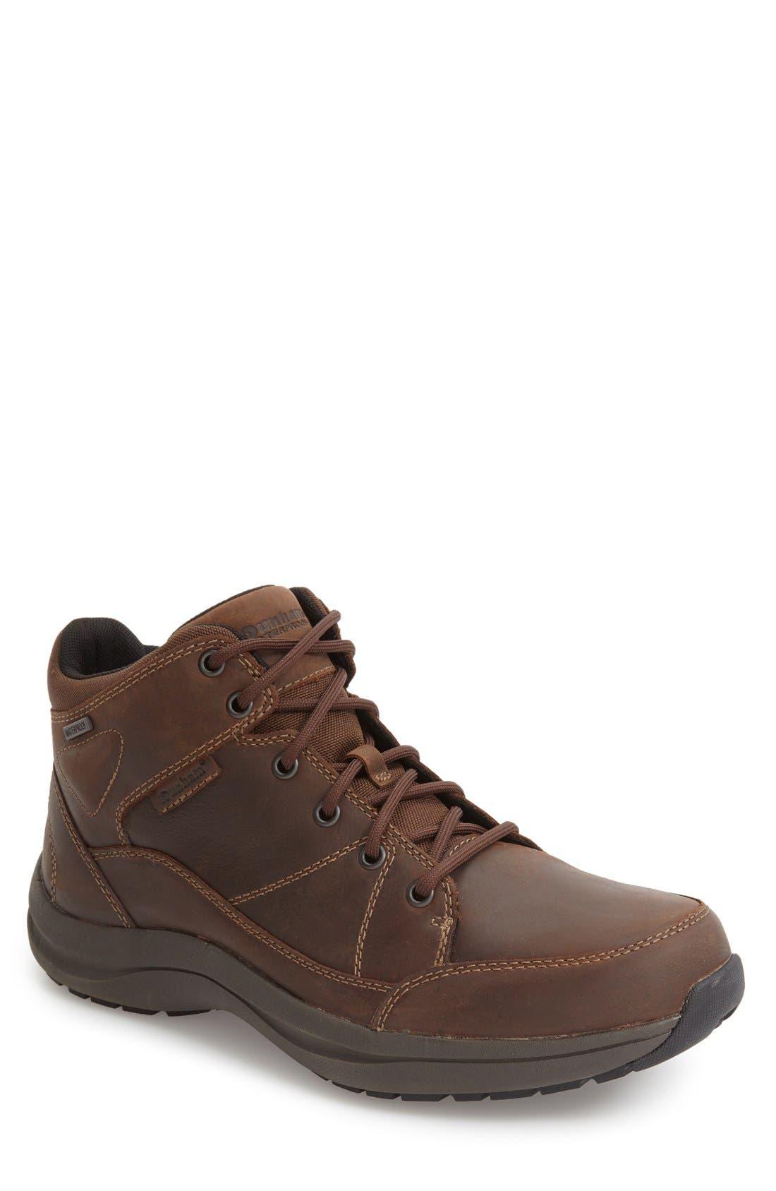 Dunham Simon-Dun Waterproof Boot, EEEEEE - Brown