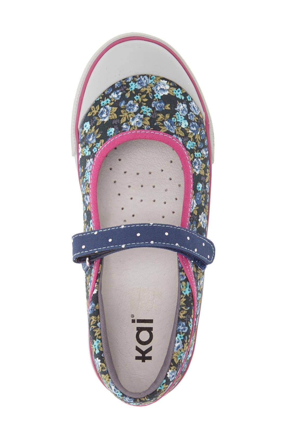 'Marie' Mary Jane Sneaker,                             Alternate thumbnail 6, color,