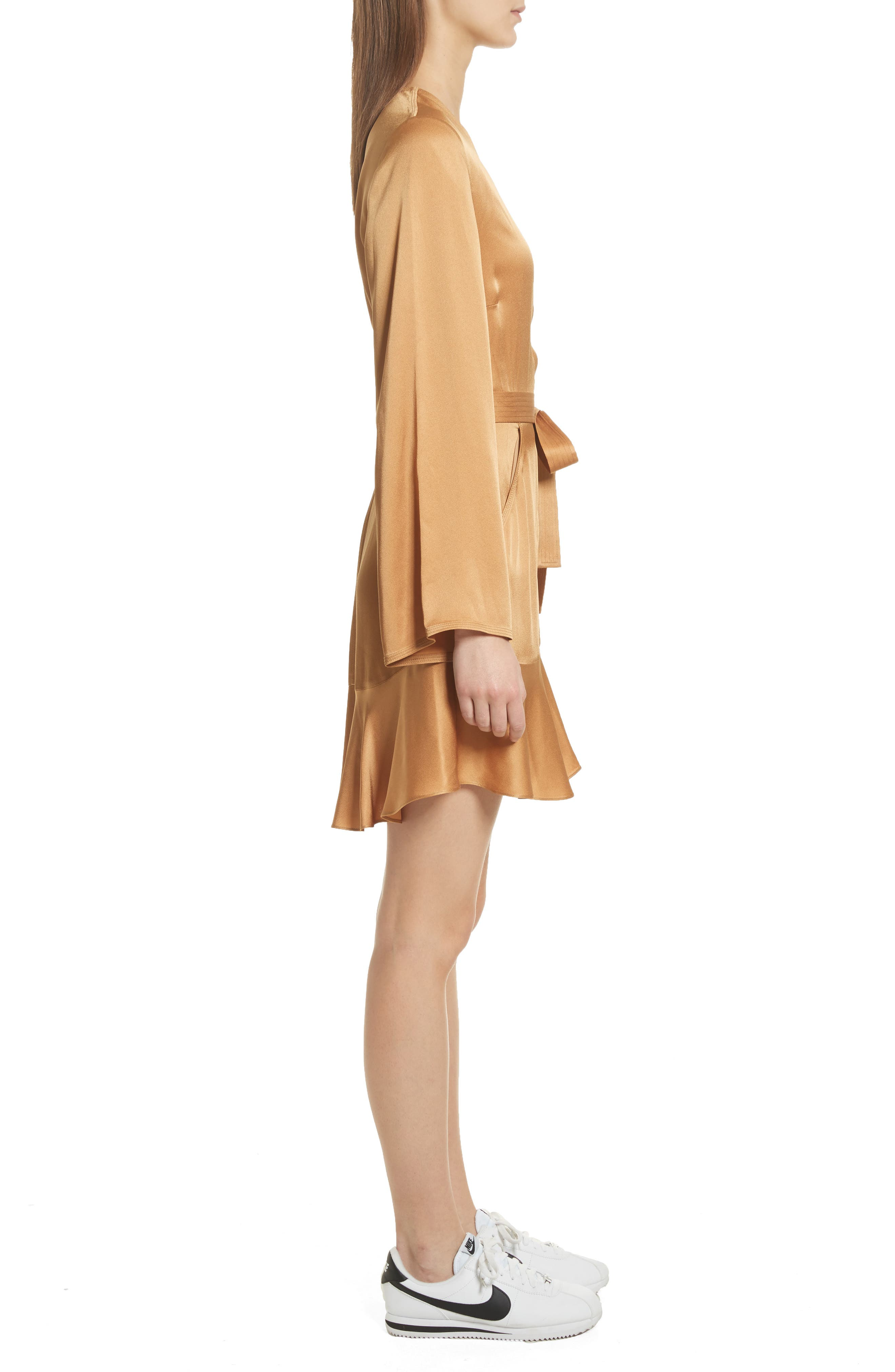 Whitney Wrap Dress,                             Alternate thumbnail 3, color,
