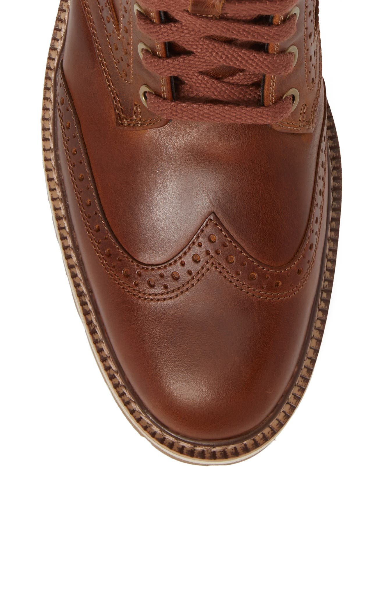 Britton Hill Wingtip Boot,                             Alternate thumbnail 10, color,