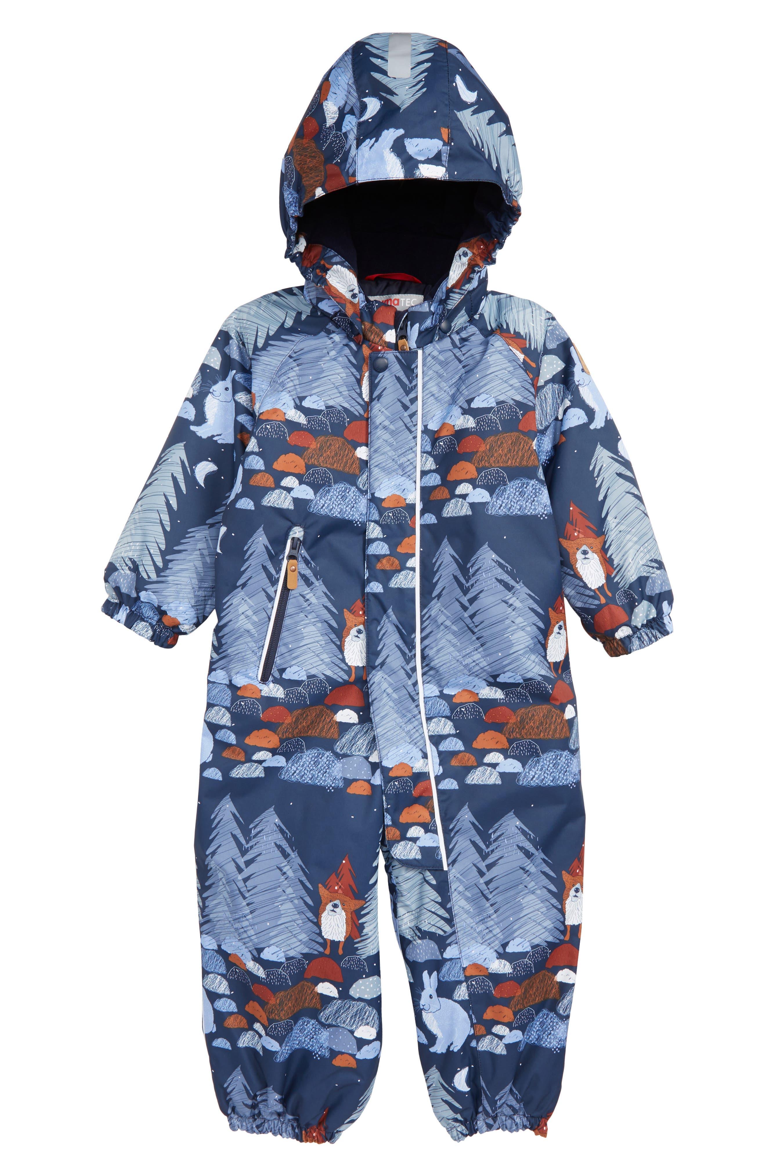 Toddler Boys Reima Puhuri Reimatec Waterproof Snow Suit Size 3Y  98 cm  Blue