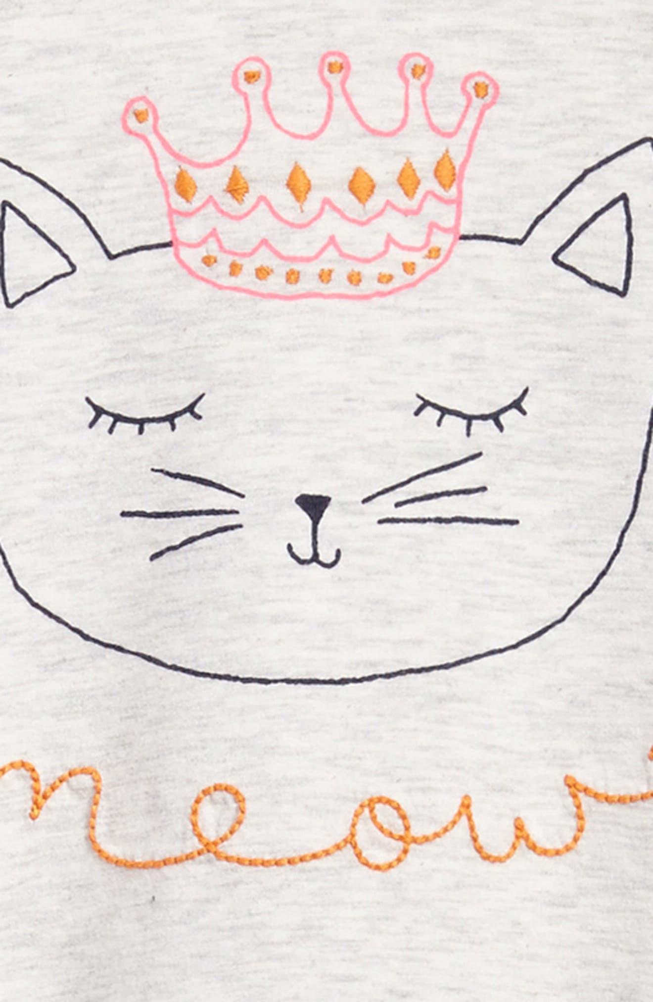 Flutter Sleeve Knit Dress,                             Alternate thumbnail 6, color,