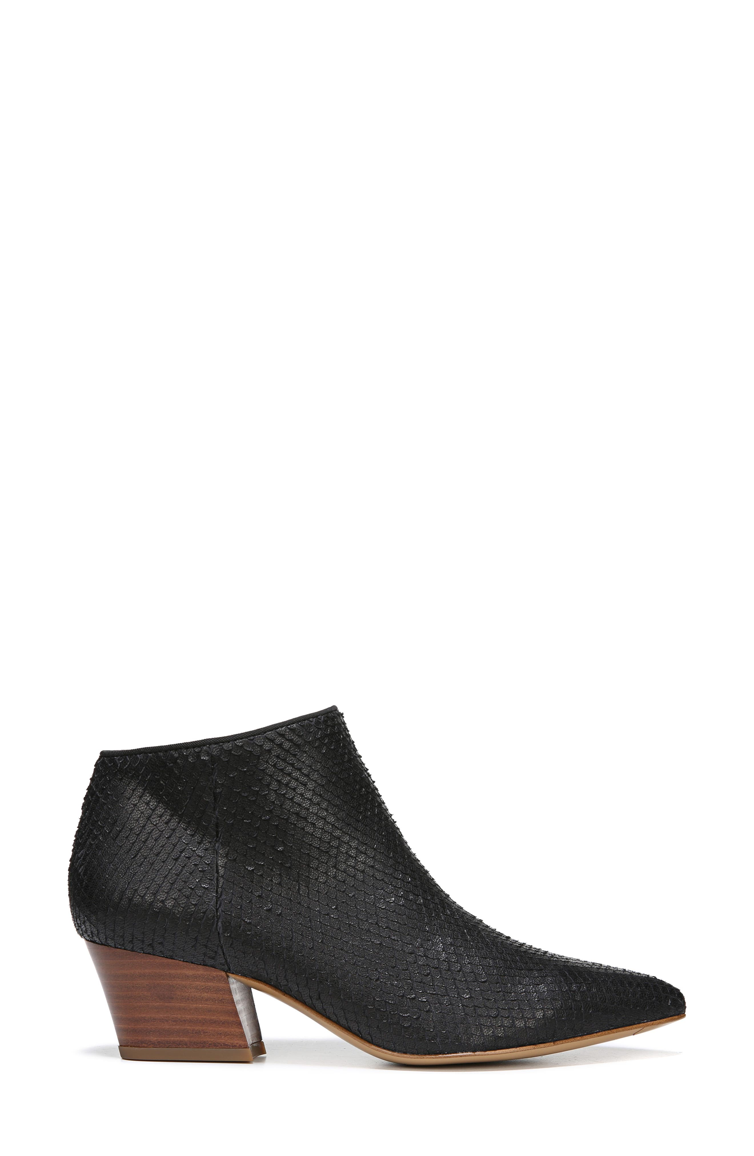 Lowe Bootie,                             Alternate thumbnail 3, color,                             BLACK SNAKE PRINT LEATHER